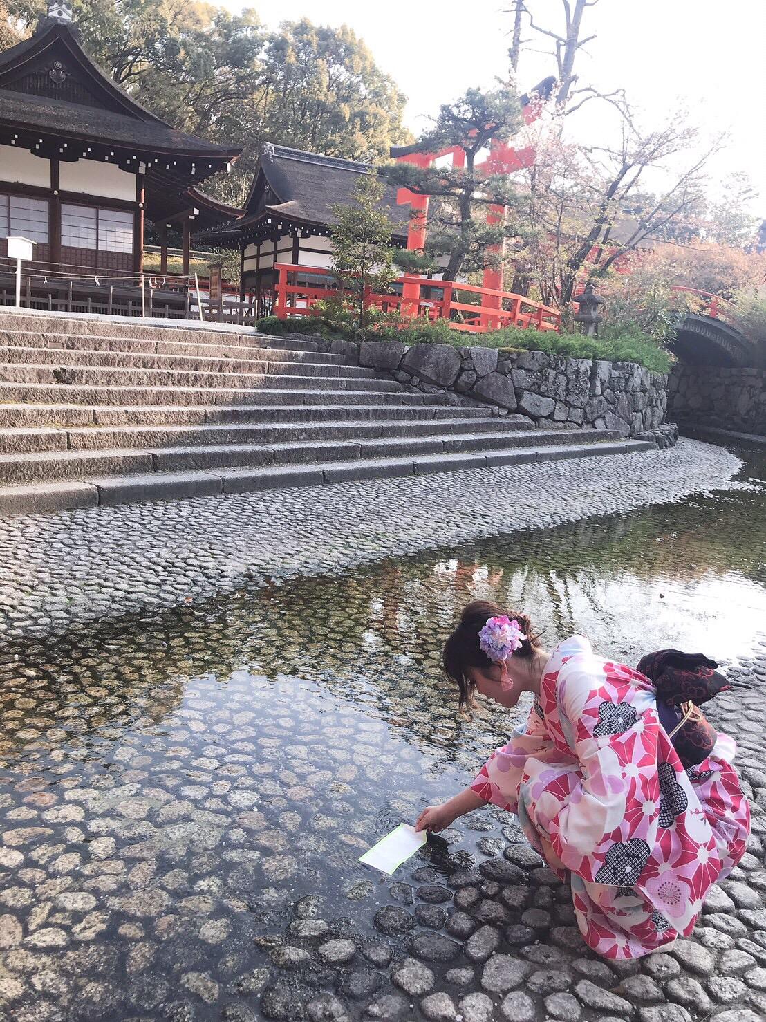 タイから京都で着物体験♪2019年4月12日13
