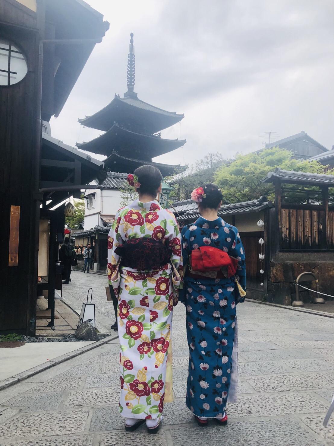 リピーター様❣祇園など東山を散策♪2019年4月19日1