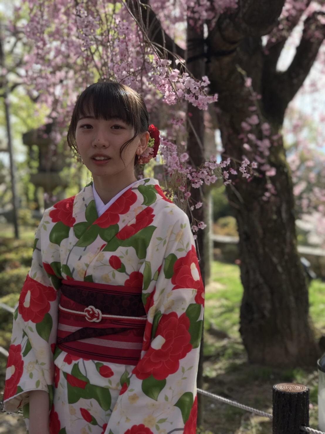 週末に京都で着物レンタル♪2019年4月13日15