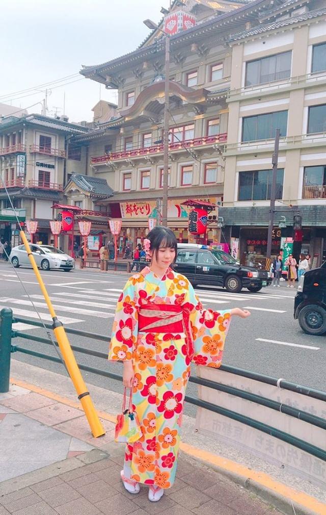 タイから京都で着物体験♪2019年4月12日3