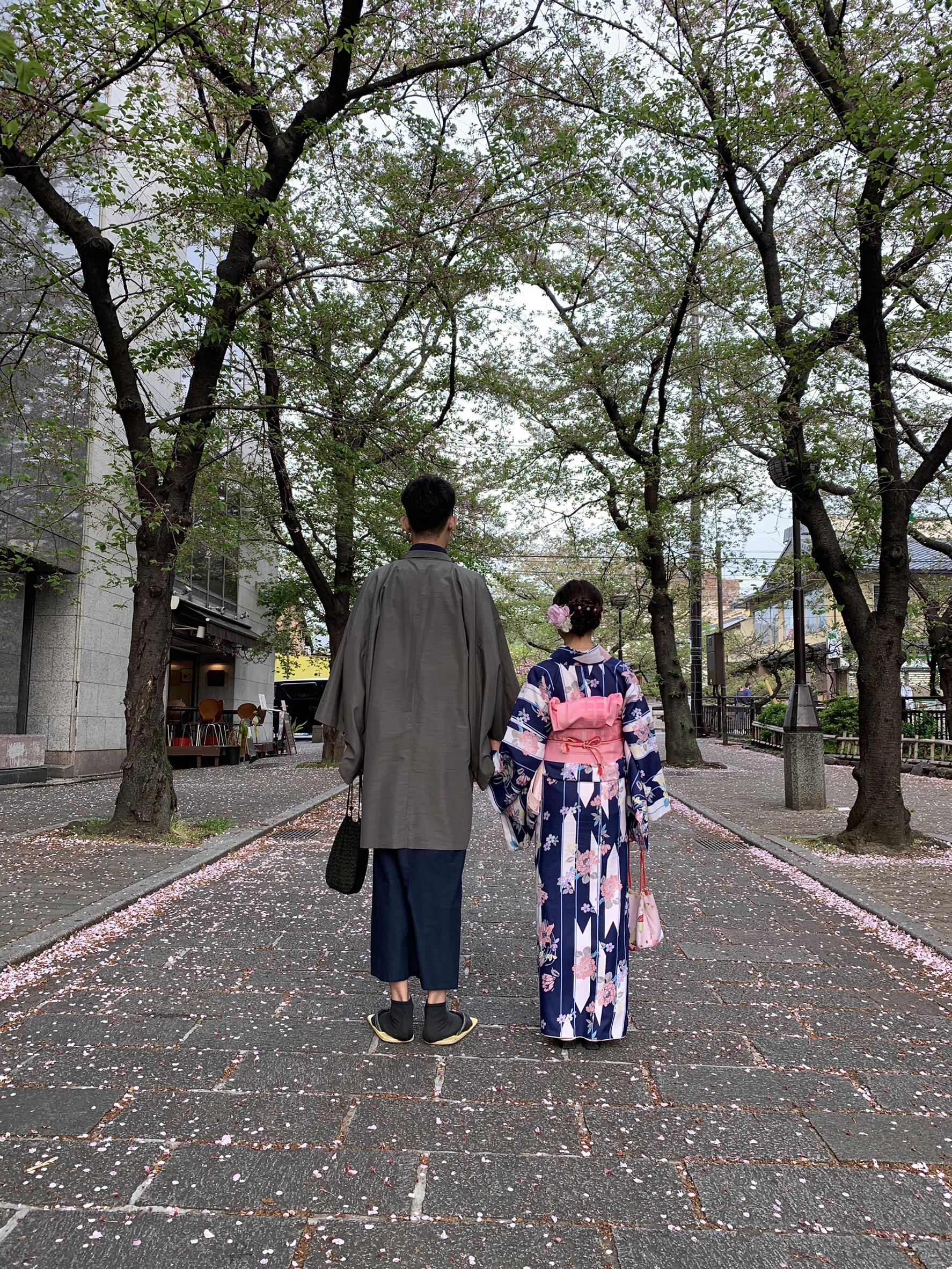 リピーター様❣祇園など東山を散策♪2019年4月19日5