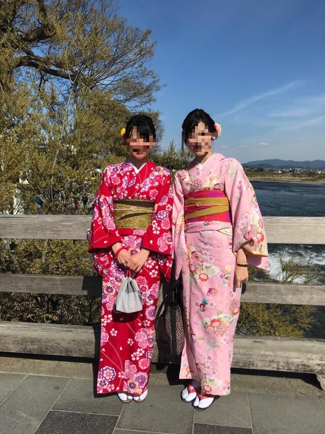 週末に京都で着物レンタル♪2019年4月13日1