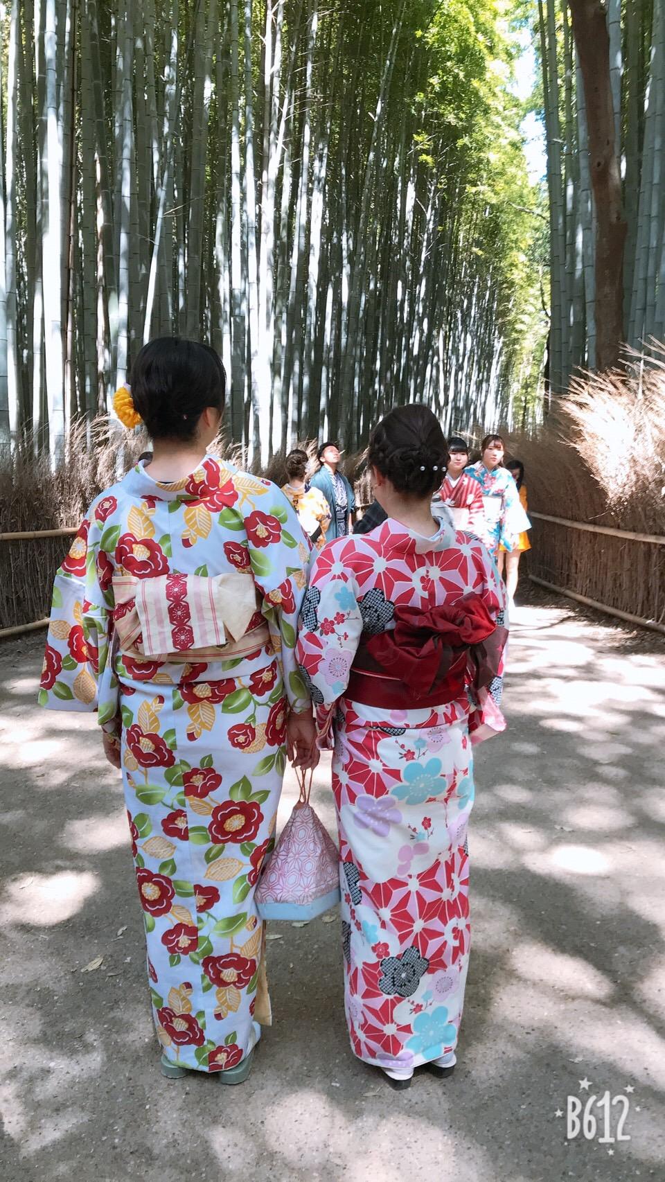 週末に京都で着物レンタル♪2019年4月13日6