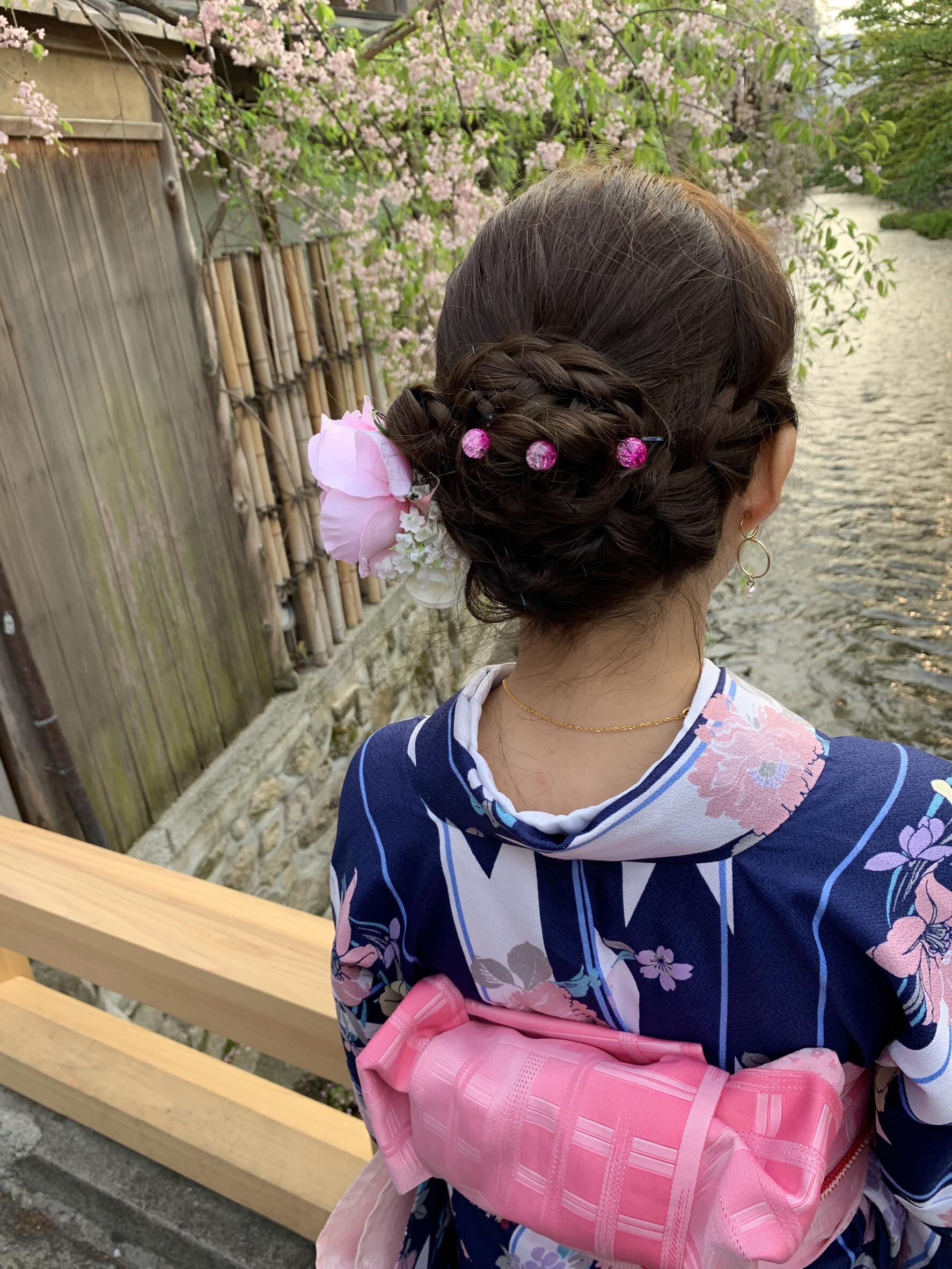 リピーター様❣祇園など東山を散策♪2019年4月19日8