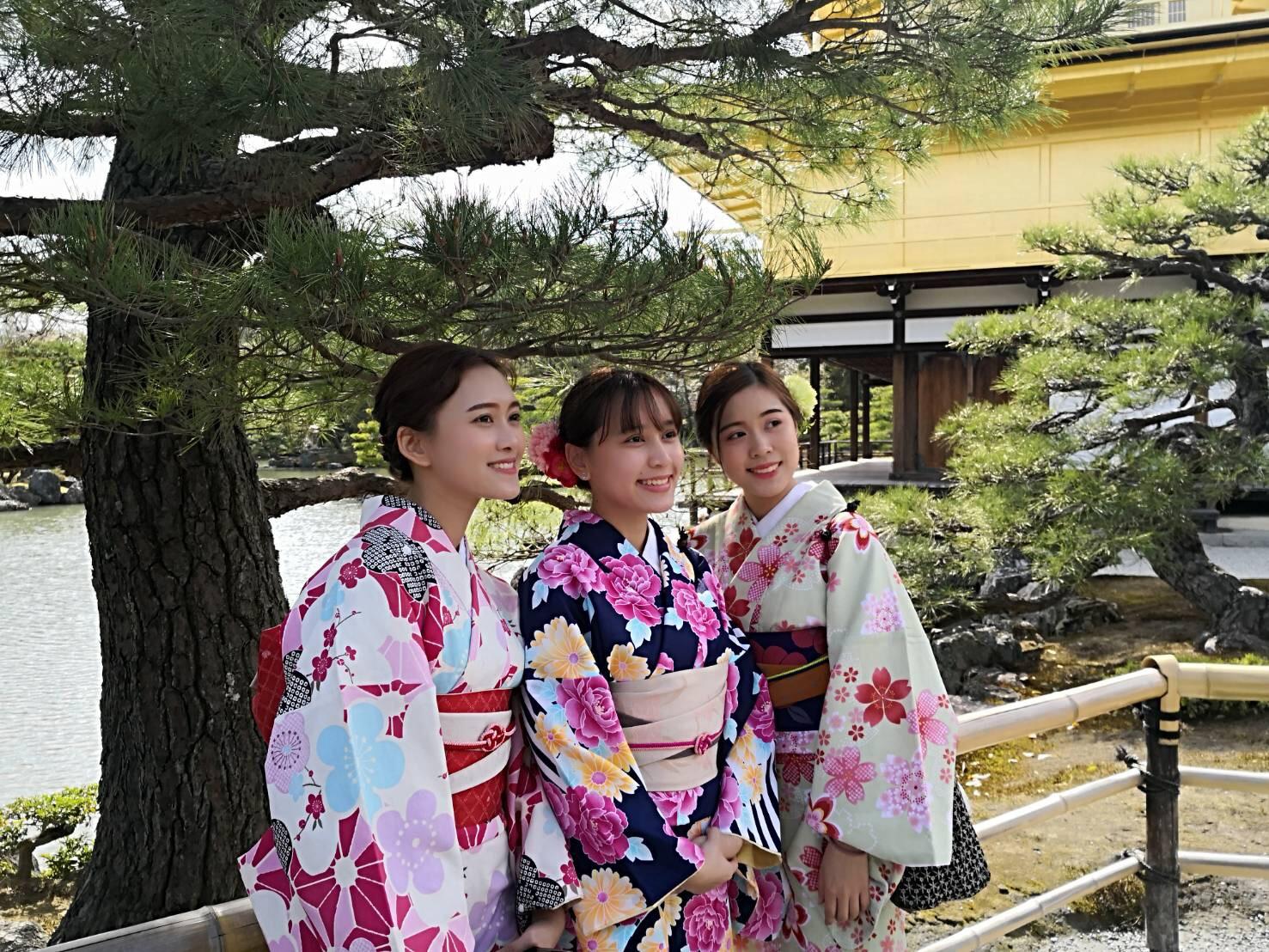 タイから京都で着物体験♪2019年4月12日6