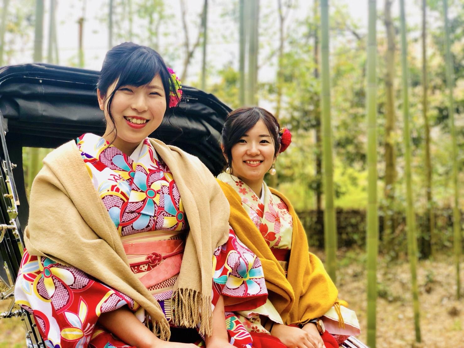 週末に京都で着物レンタル♪2019年4月13日4