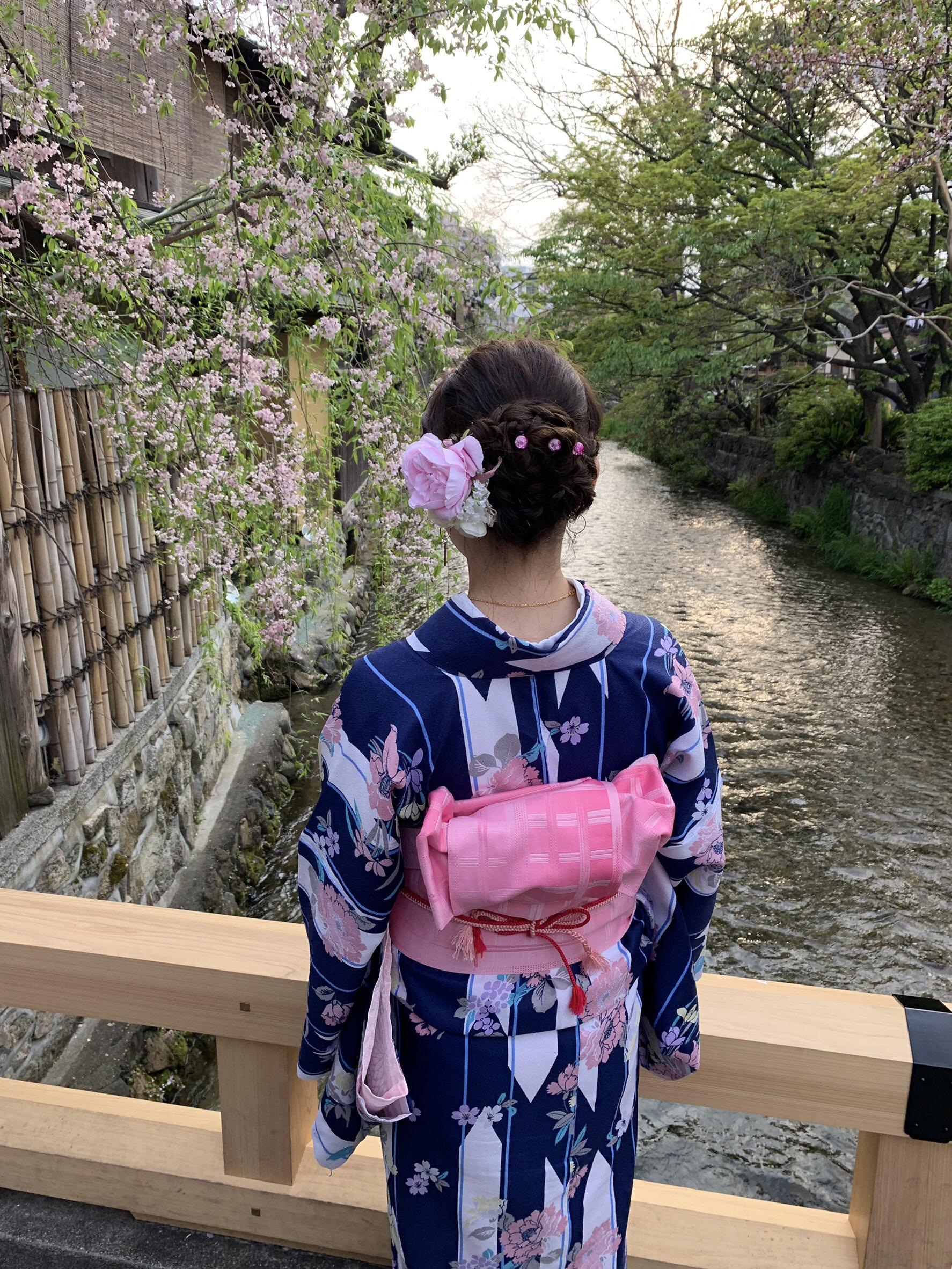 リピーター様❣祇園など東山を散策♪2019年4月19日10