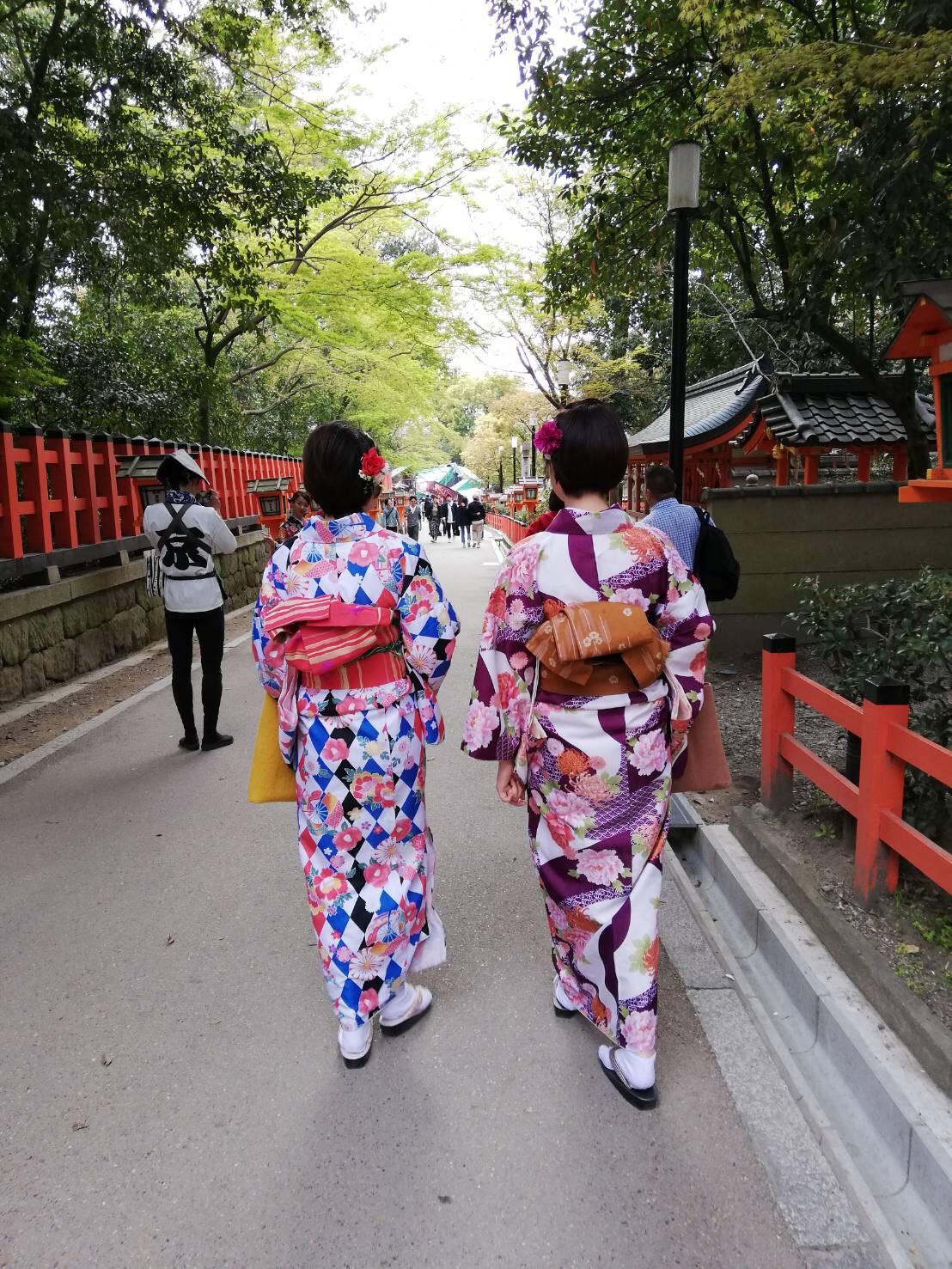週末に京都で着物レンタル♪2019年4月13日3