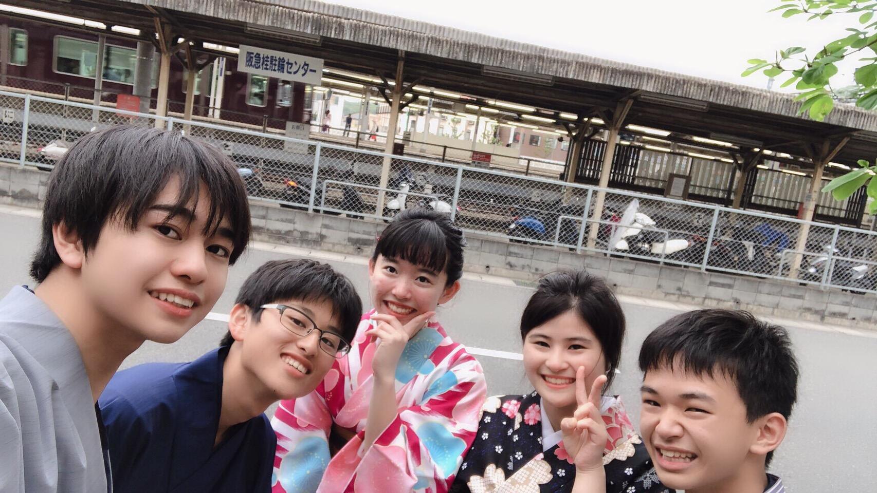 高校生の遠足♪みんなで着物体験2019年4月24日2