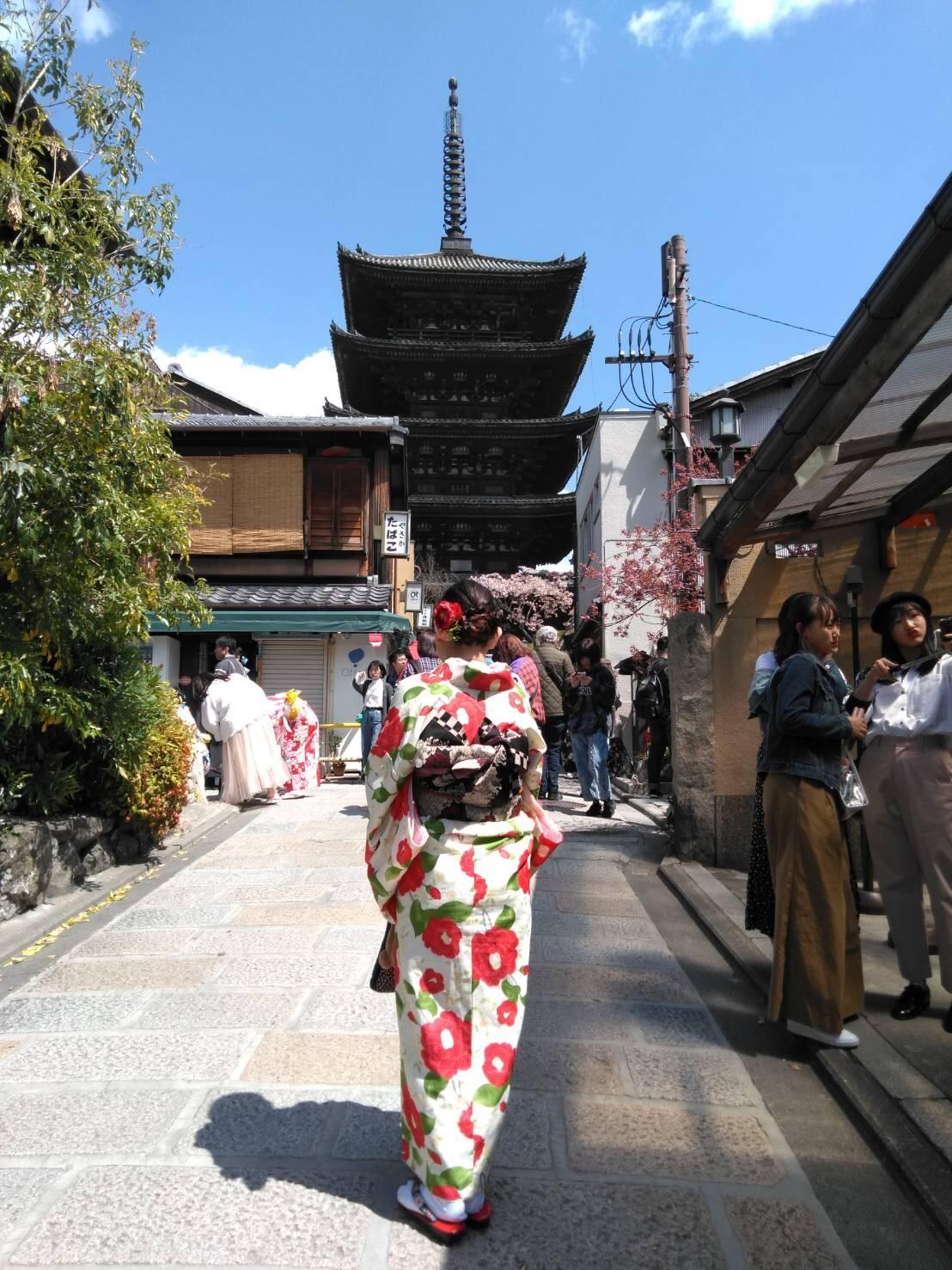 蹴上インクラインと八坂庚申堂へ2019年4月15日4