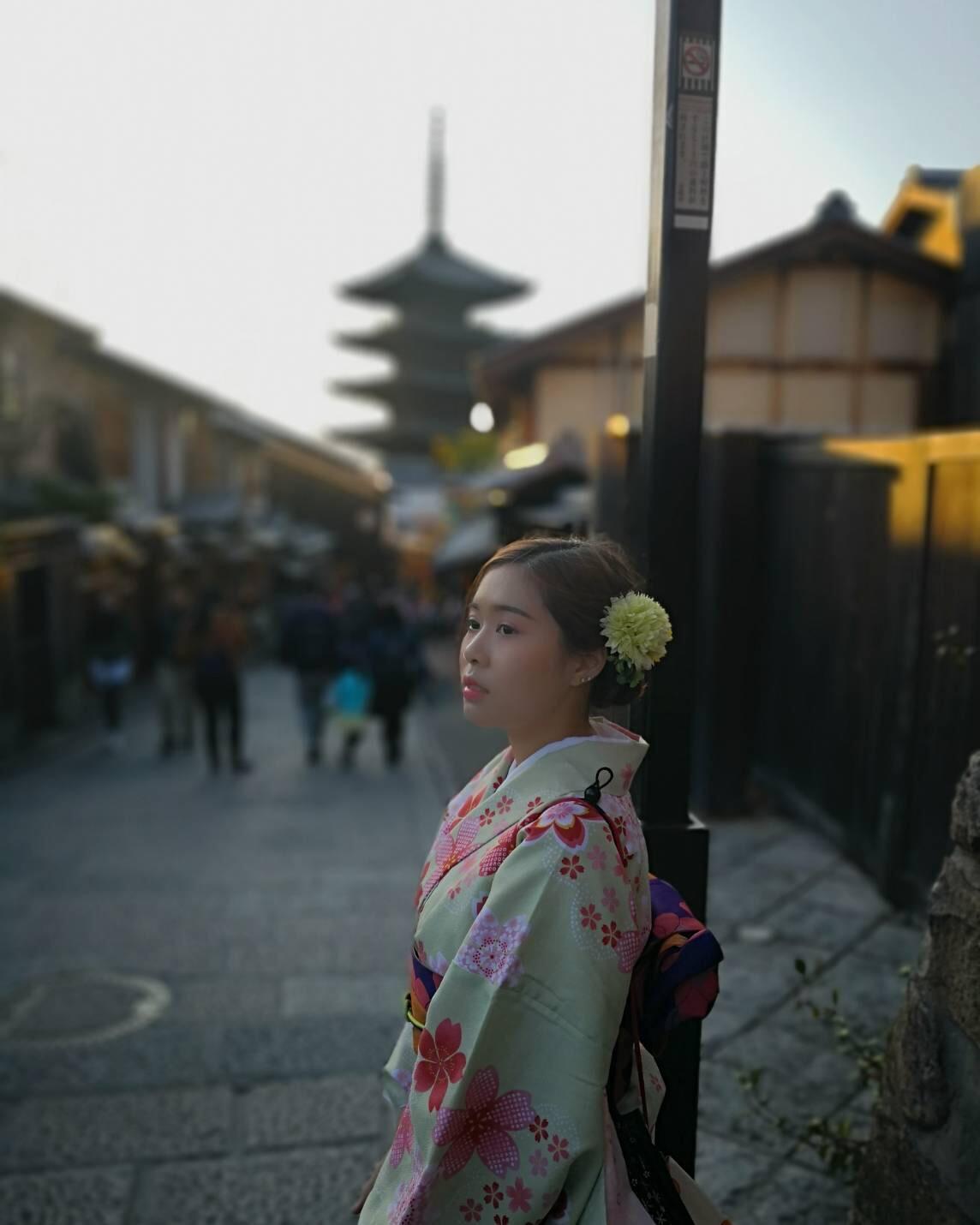 タイから京都で着物体験♪2019年4月12日7