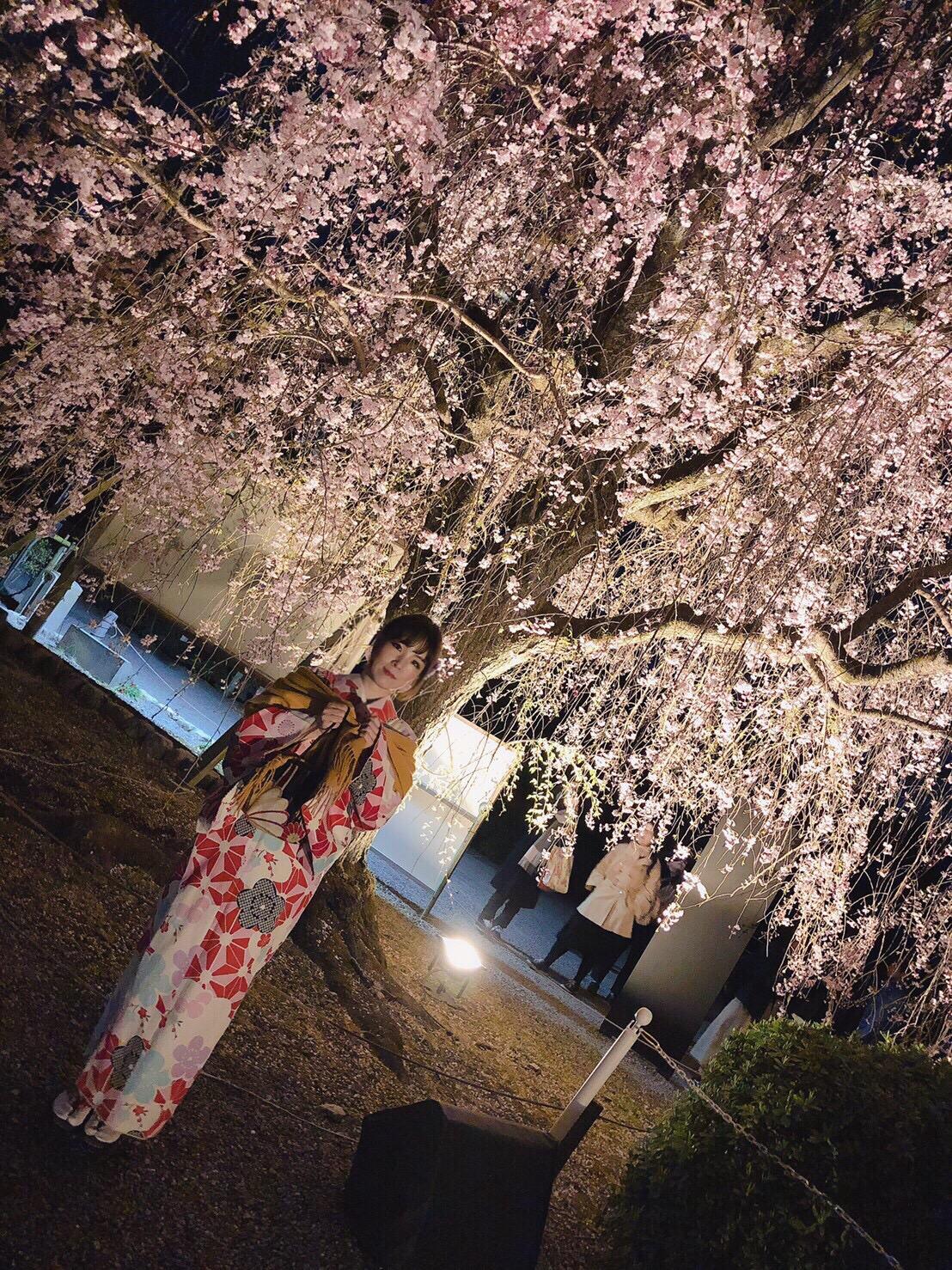 タイから京都で着物体験♪2019年4月12日14