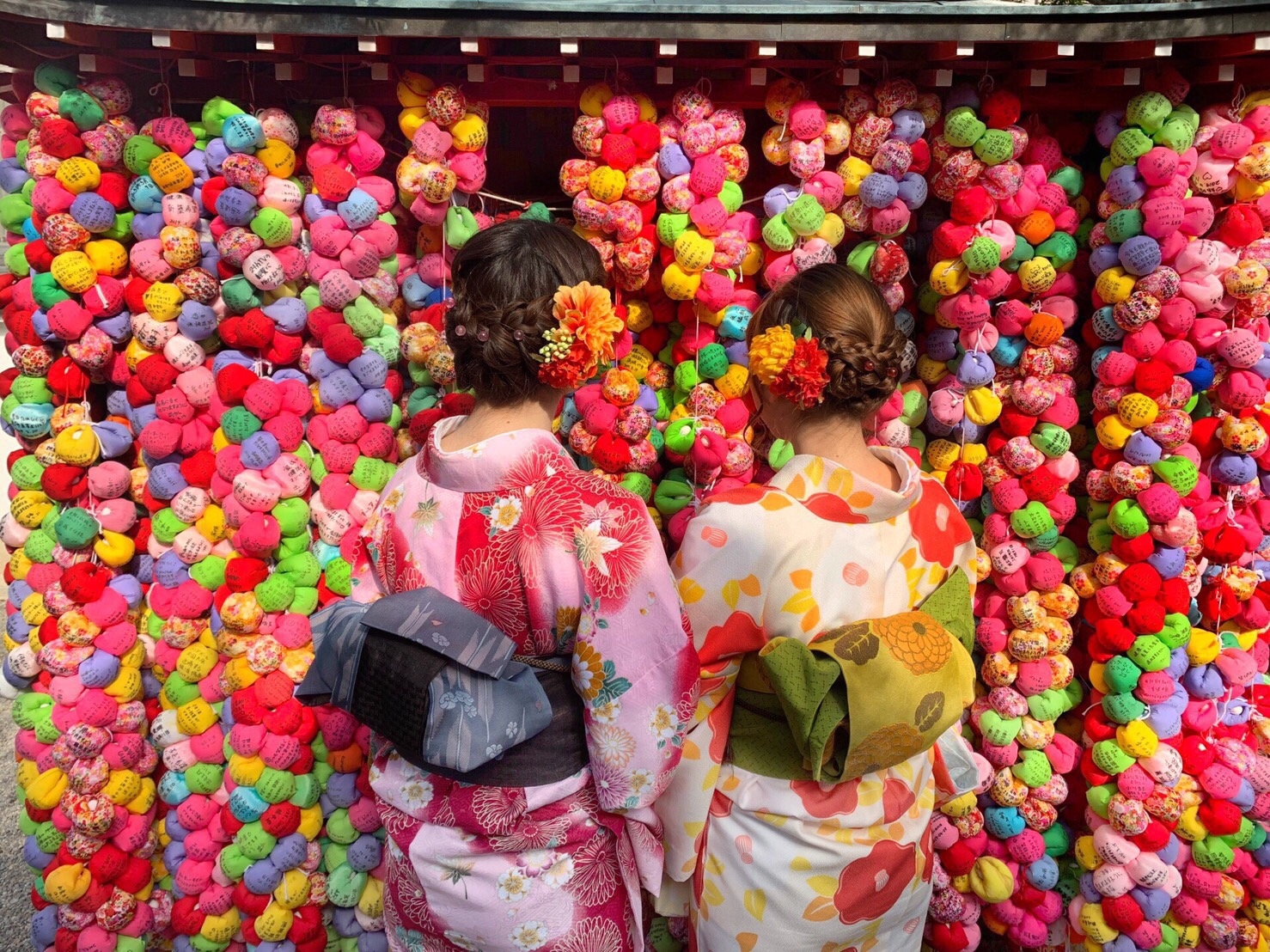 タイから京都で着物体験♪2019年4月12日5