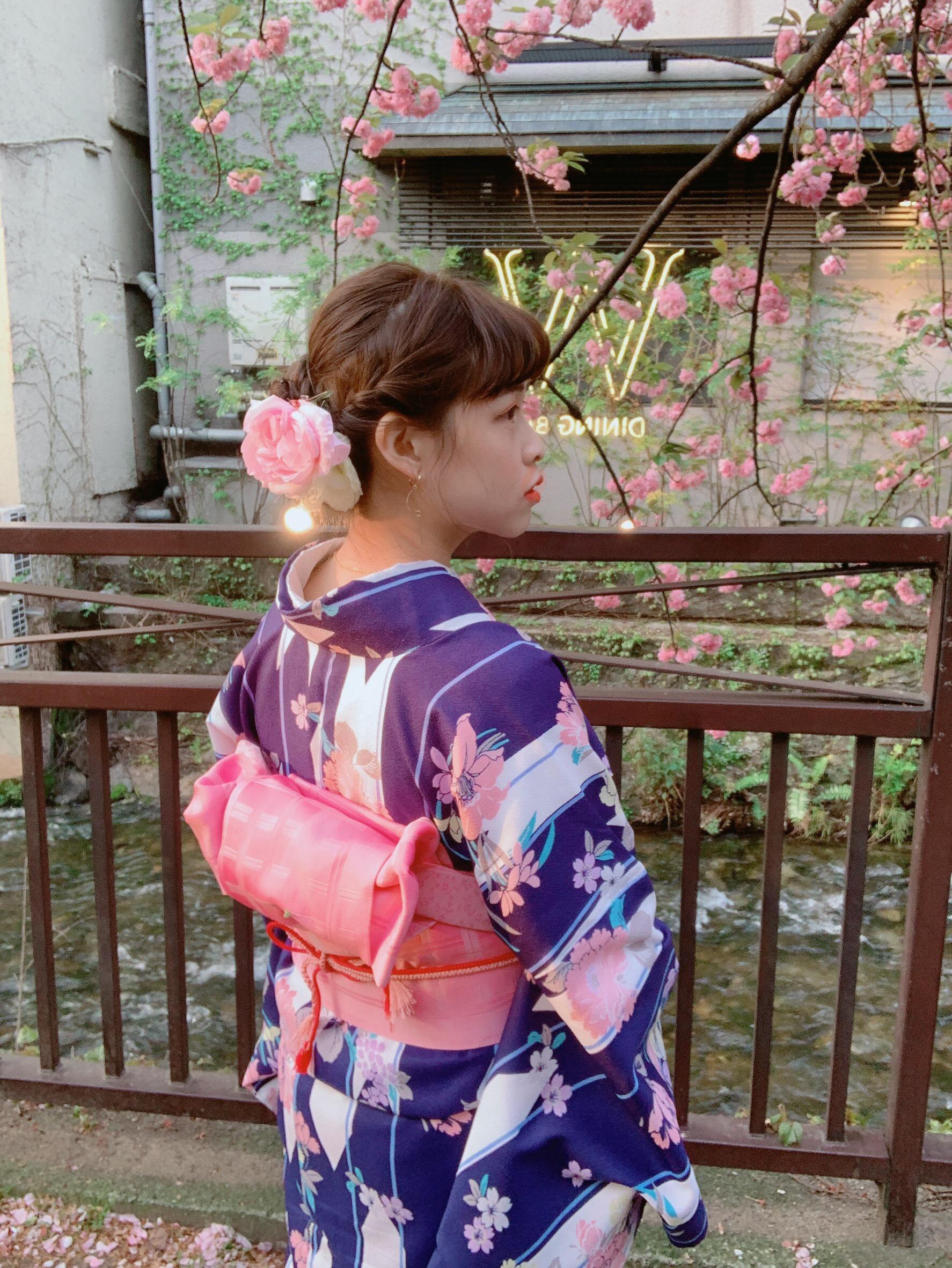 リピーター様❣祇園など東山を散策♪2019年4月19日4