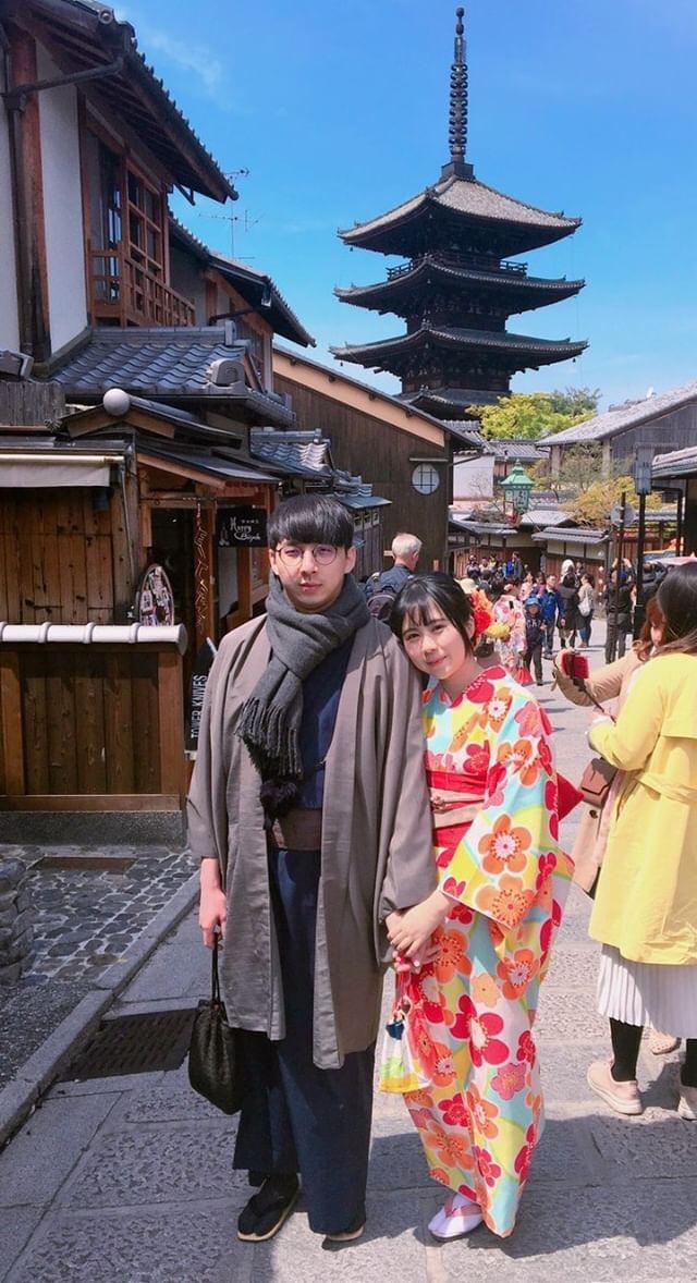 タイから京都で着物体験♪2019年4月12日4