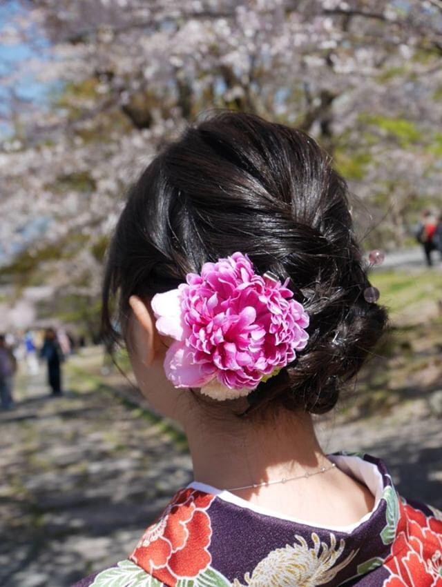 週末に京都で着物レンタル♪2019年4月13日11