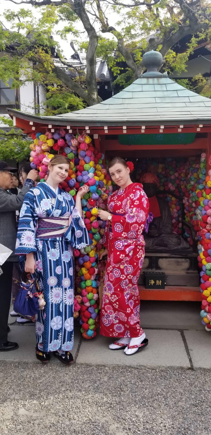 週末に京都で着物レンタル♪2019年4月13日7