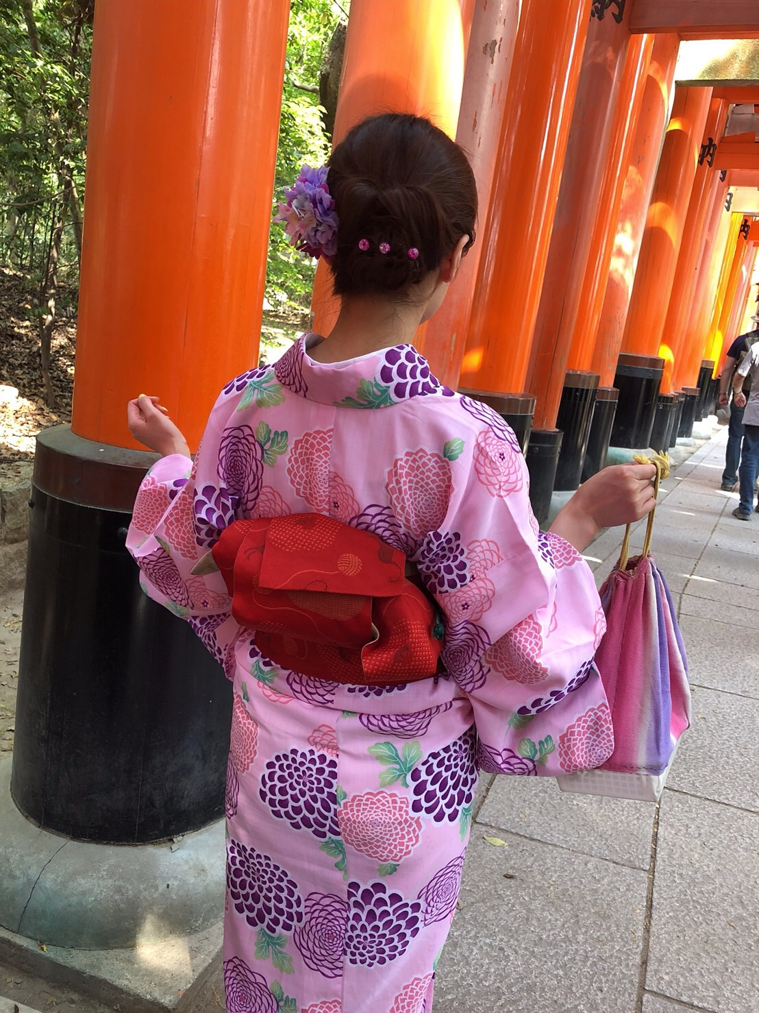人気スポット金閣寺・伏見稲荷大社・嵐山へ2019年5月13日2