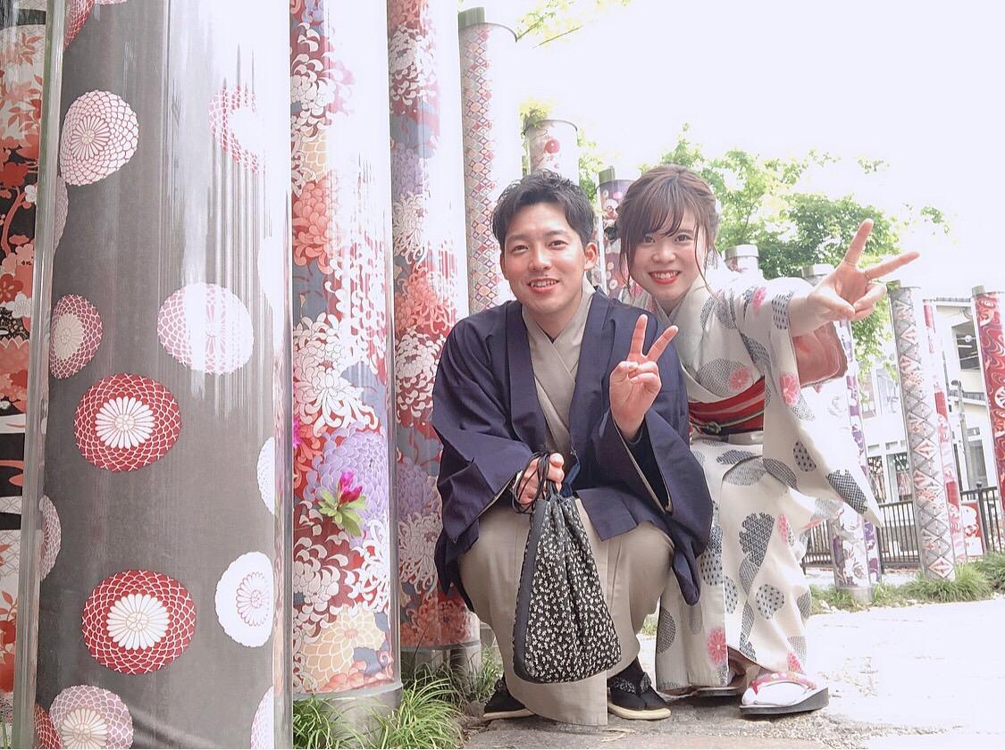 カップルでキモノフォレストへ♡2019年5月9日7
