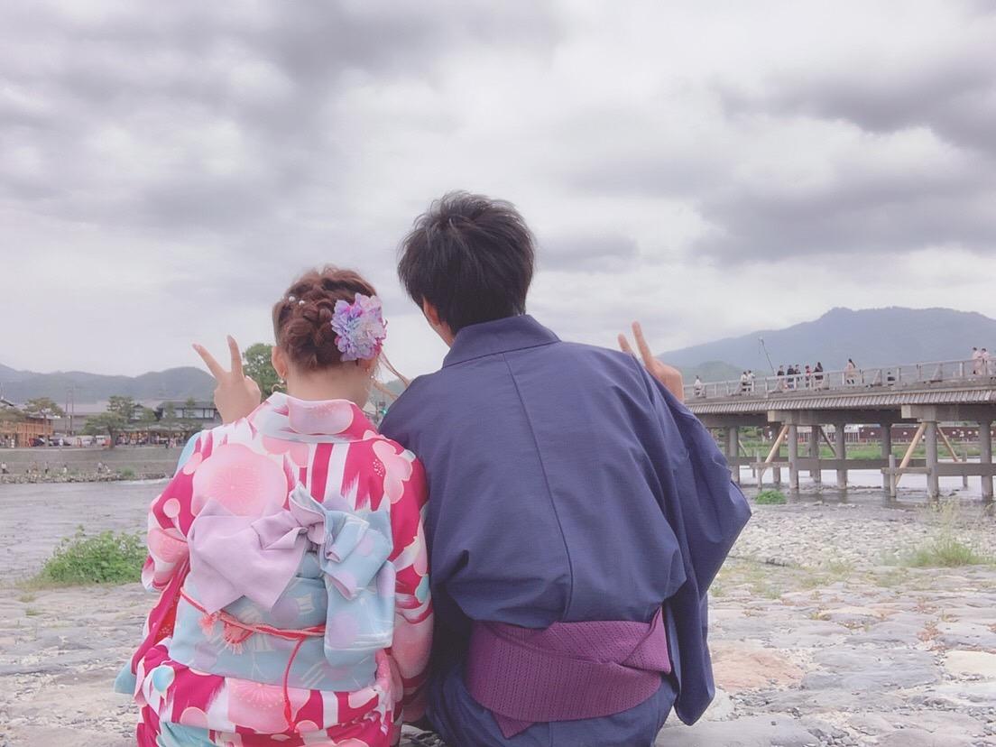 今日の人気スポットは嵐山2019年5月18日10