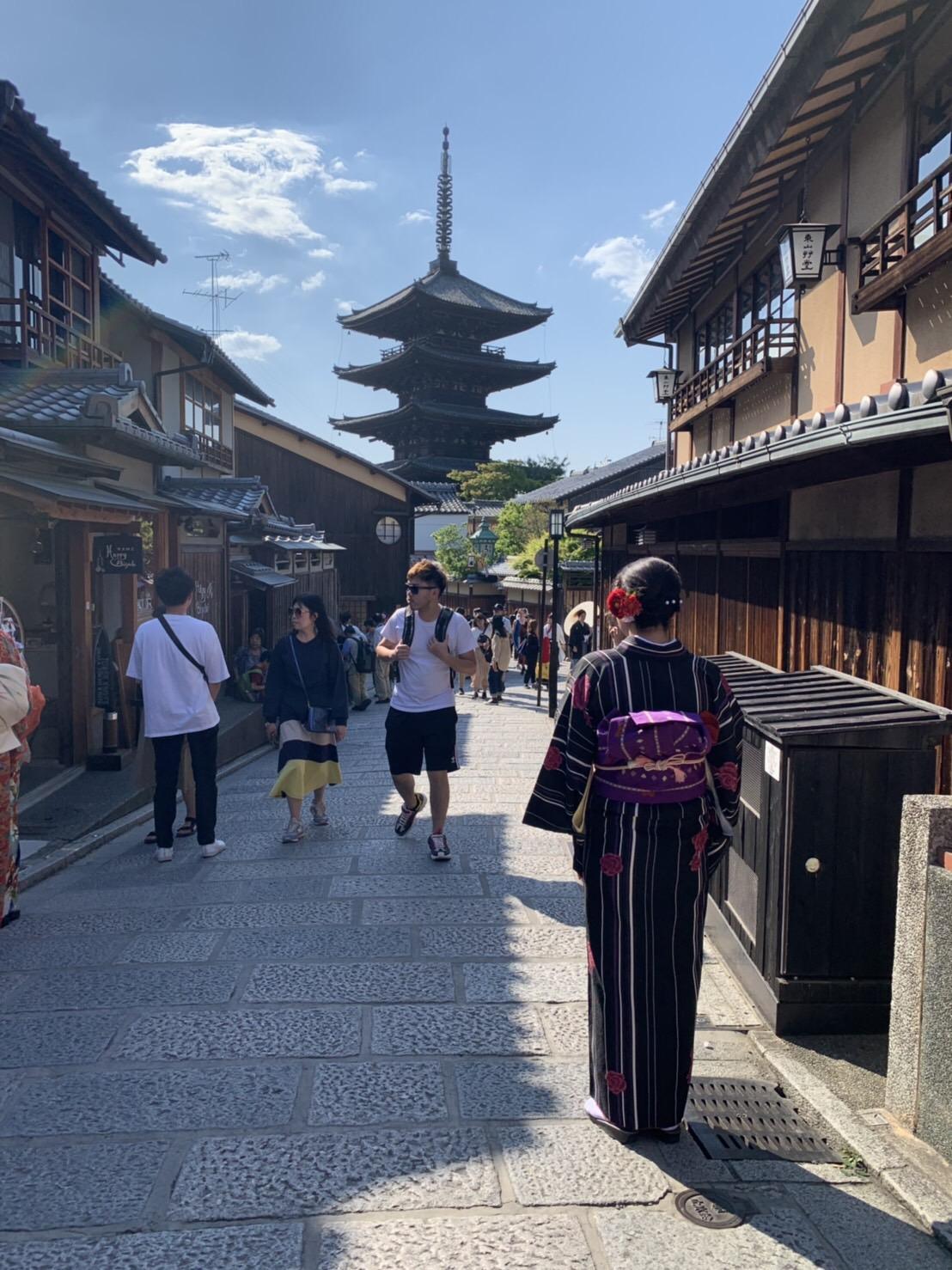 週末を利用して京都旅行♪2019年5月11日1