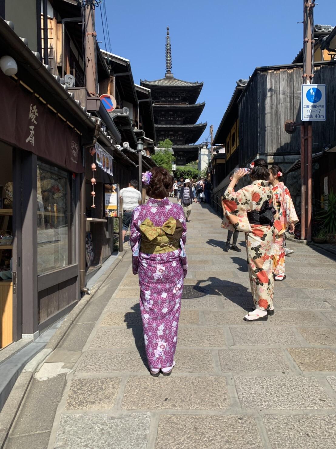 週末を利用して京都旅行♪2019年5月11日2