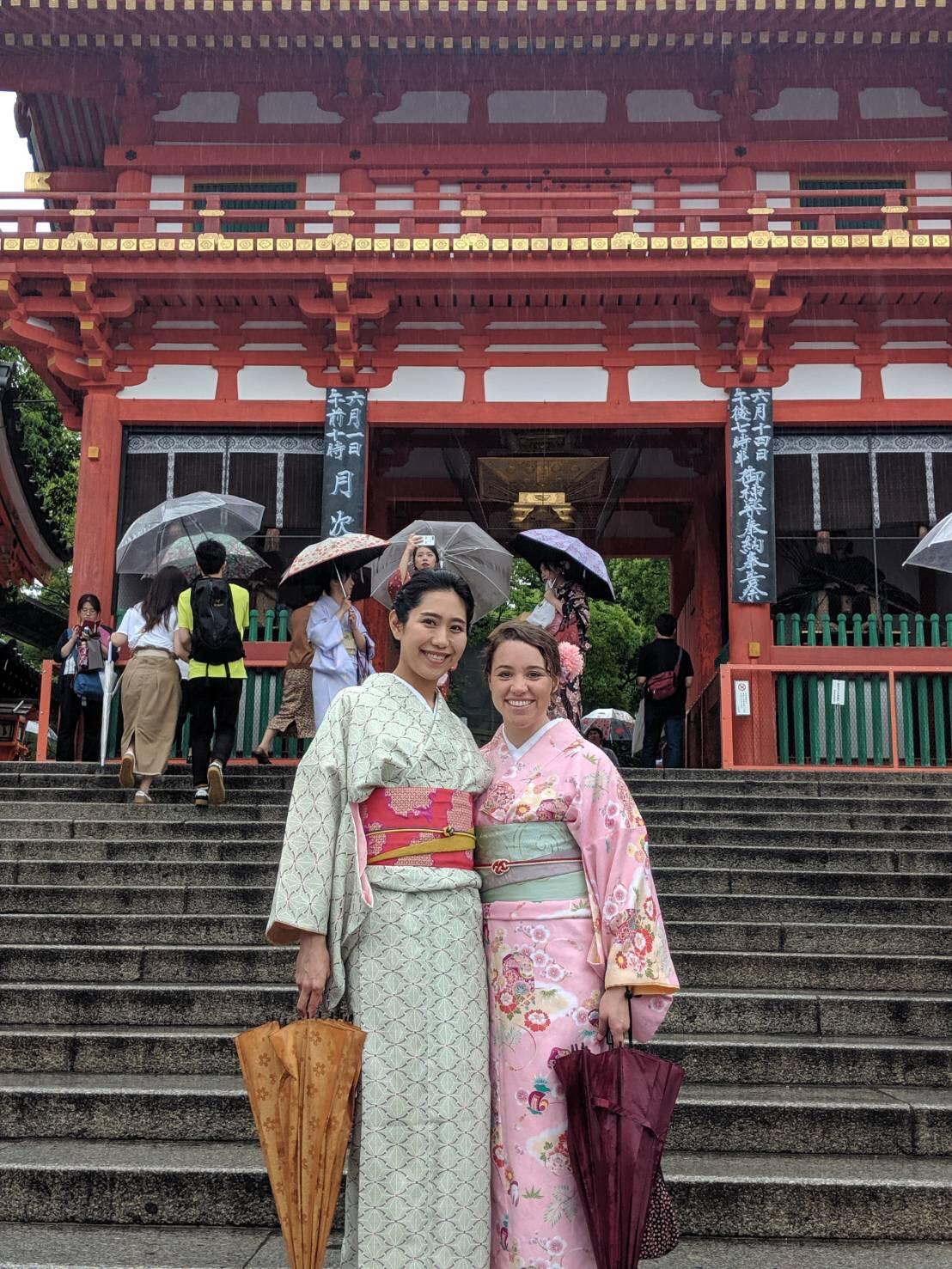 関東からの修学旅行生♡浴衣レンタル2019年5月28日3