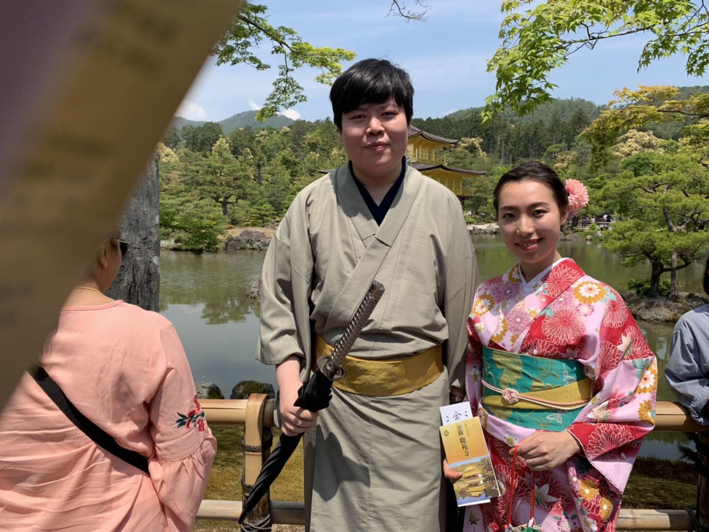 人気スポット金閣寺・伏見稲荷大社・嵐山へ2019年5月13日1