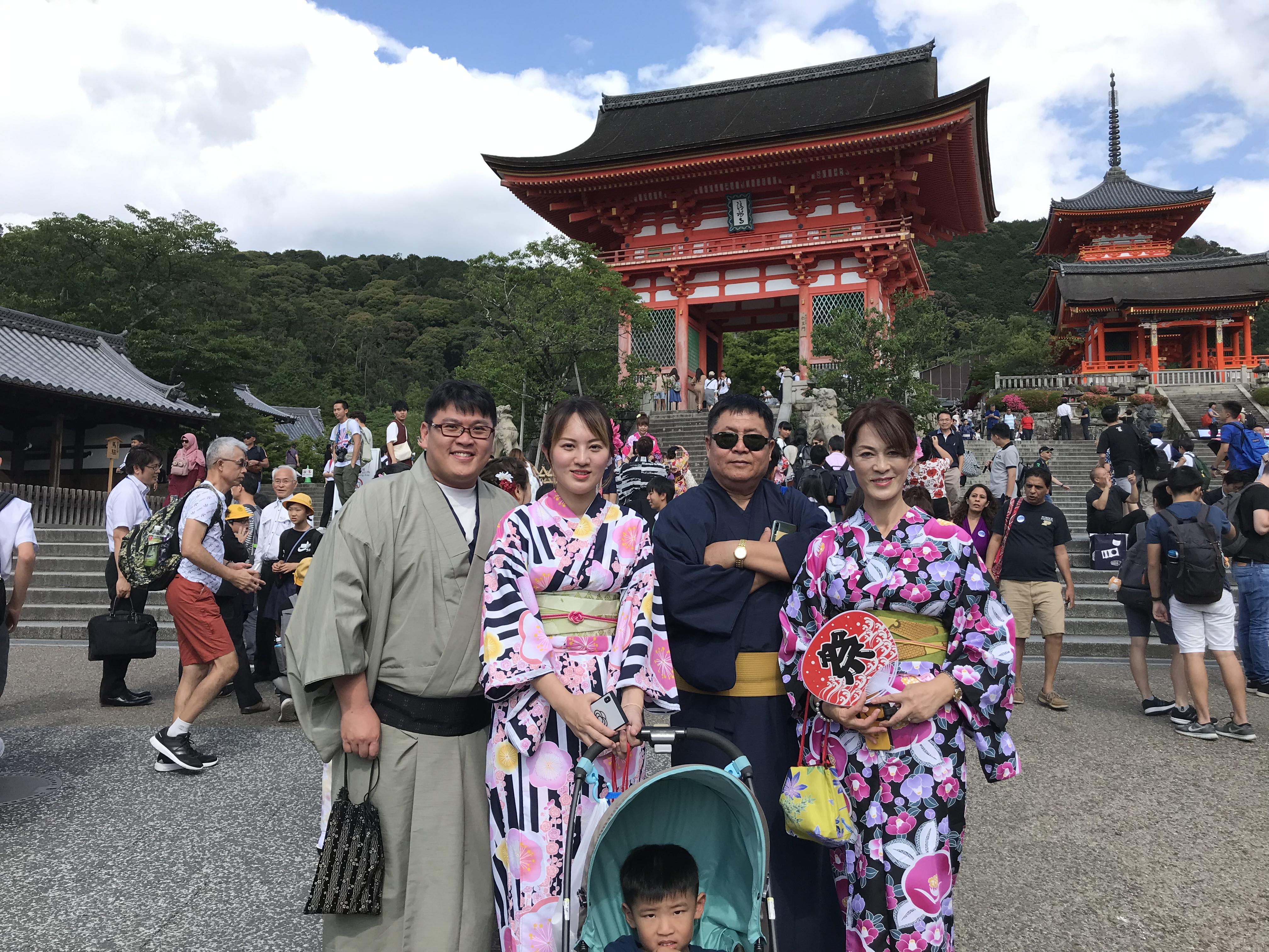 関東からの修学旅行生❣清水寺へ2019年6月12日5