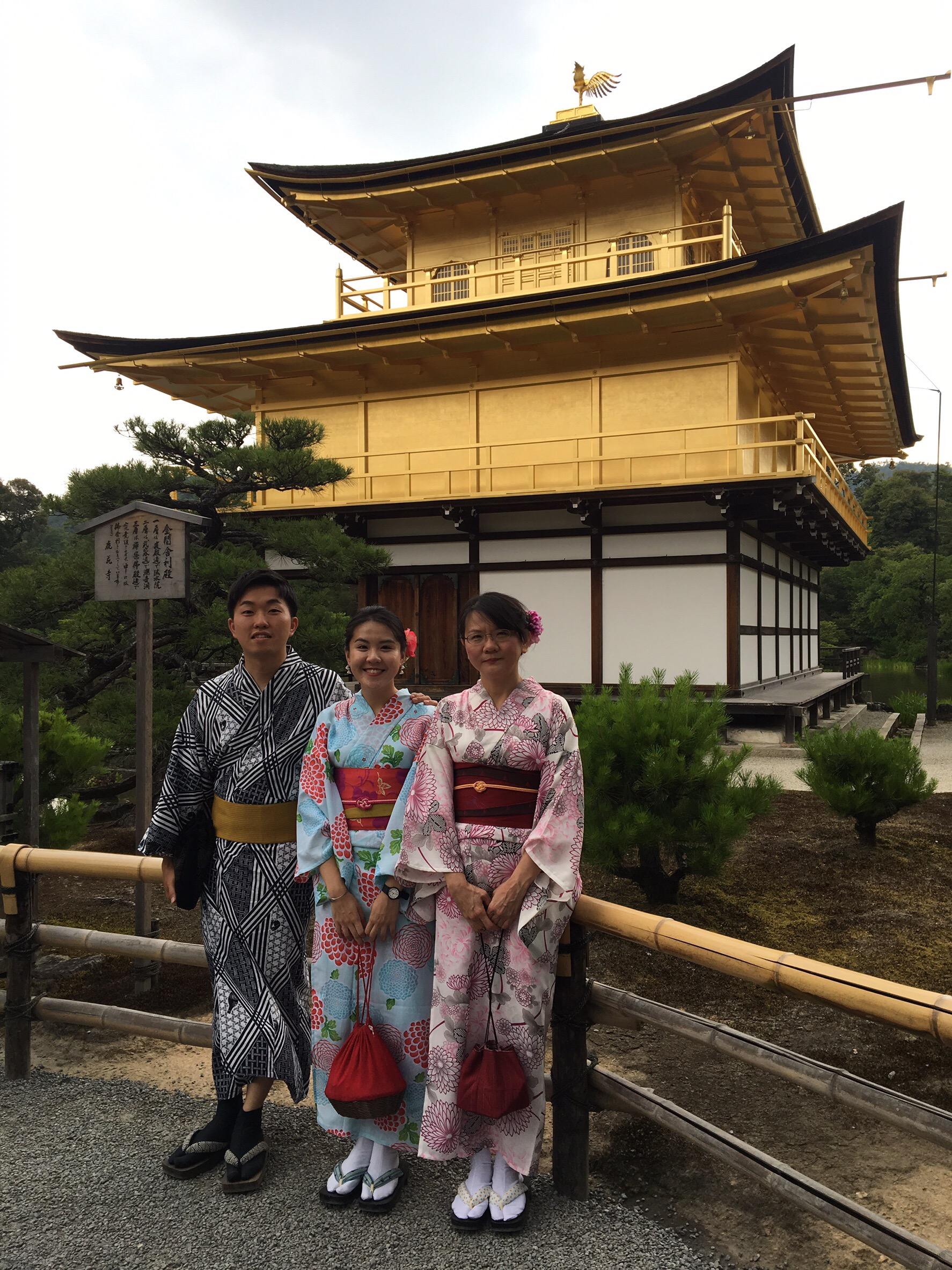 海外から京都で浴衣体験2019年6月21日4