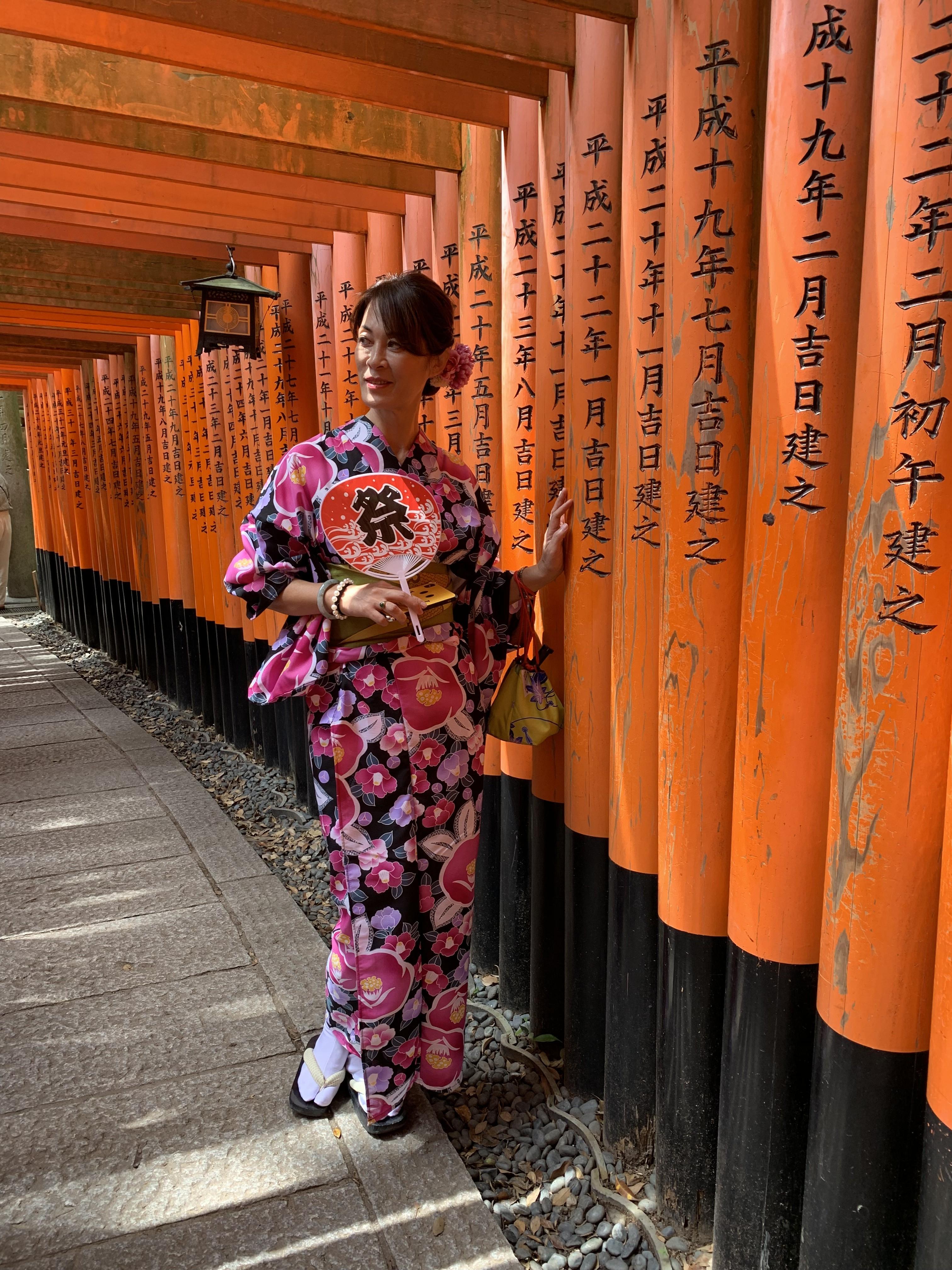 関東からの修学旅行生❣清水寺へ2019年6月12日3