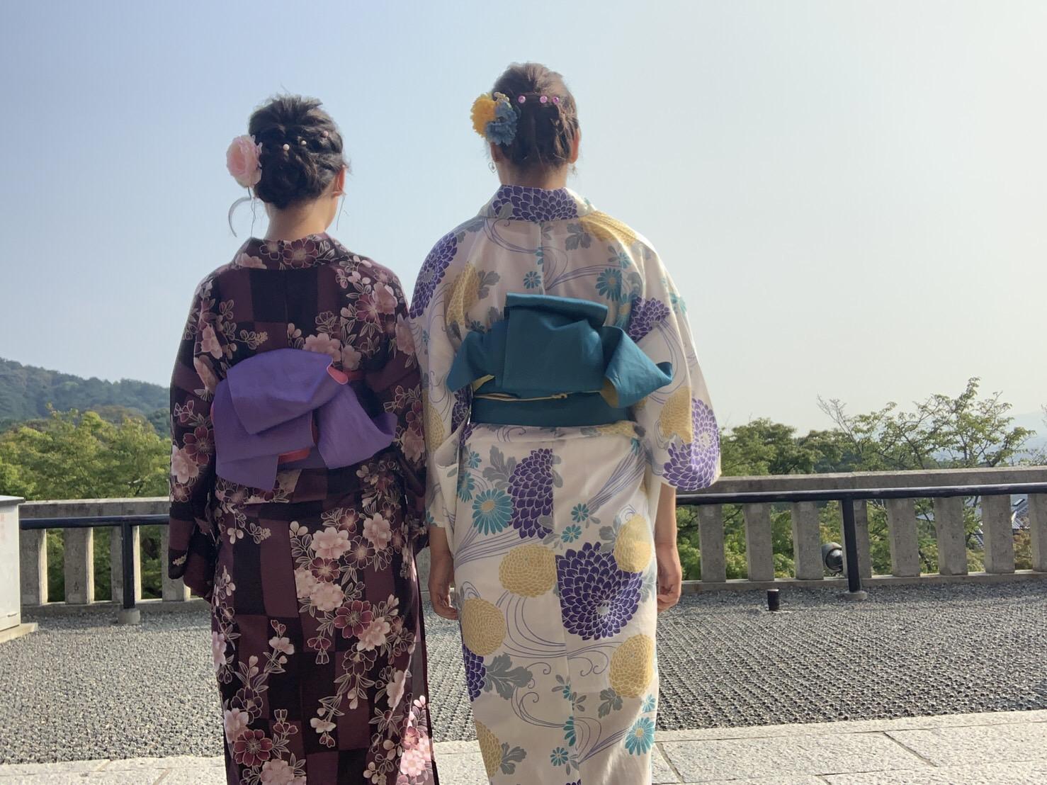 暑さに負けずに浴衣で京都観光♪2019年7月28日5