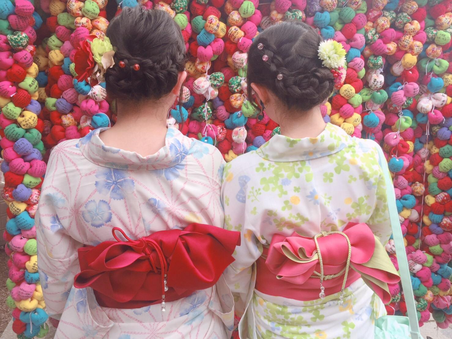 七夕はカップルで浴衣レンタル♡2019年7月7日7