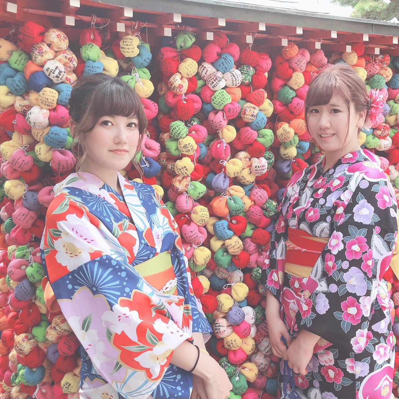 暑さに負けずに浴衣で京都観光♪2019年7月28日3