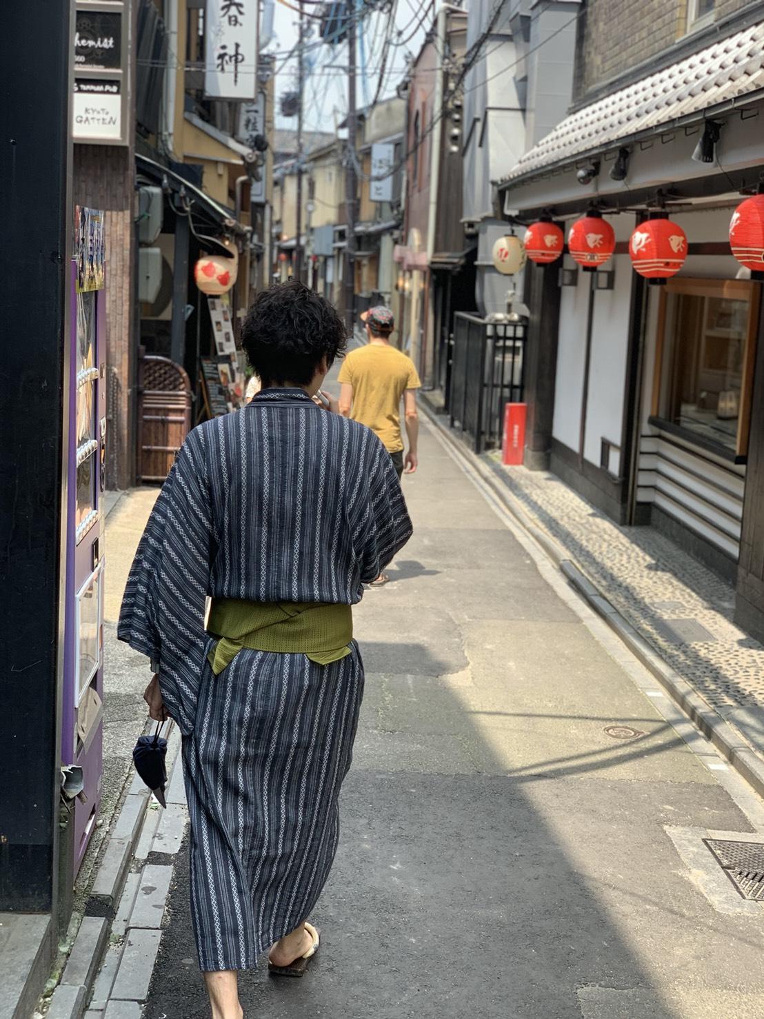 夏休みの思い出に京都旅行♪2019年7月31日7