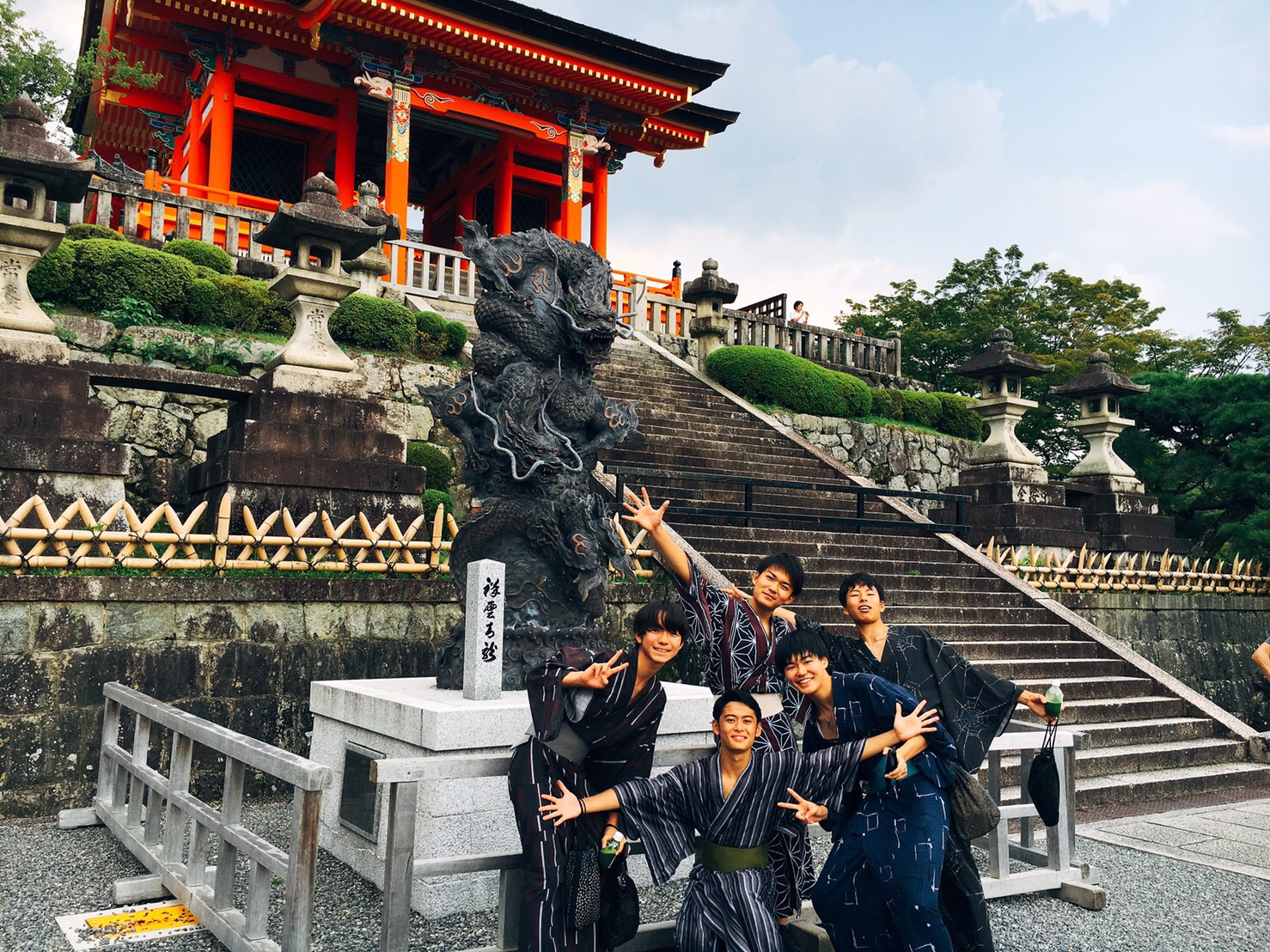 夏休みの思い出に京都旅行♪2019年7月31日2