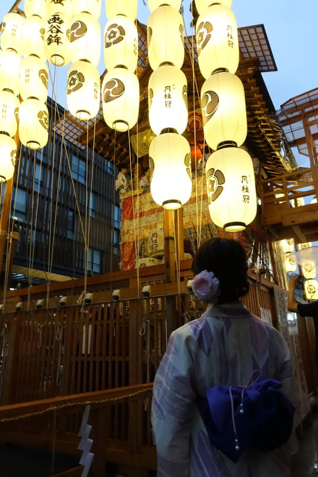 2019祇園祭 前祭 宵宵々山2019年7月14日23