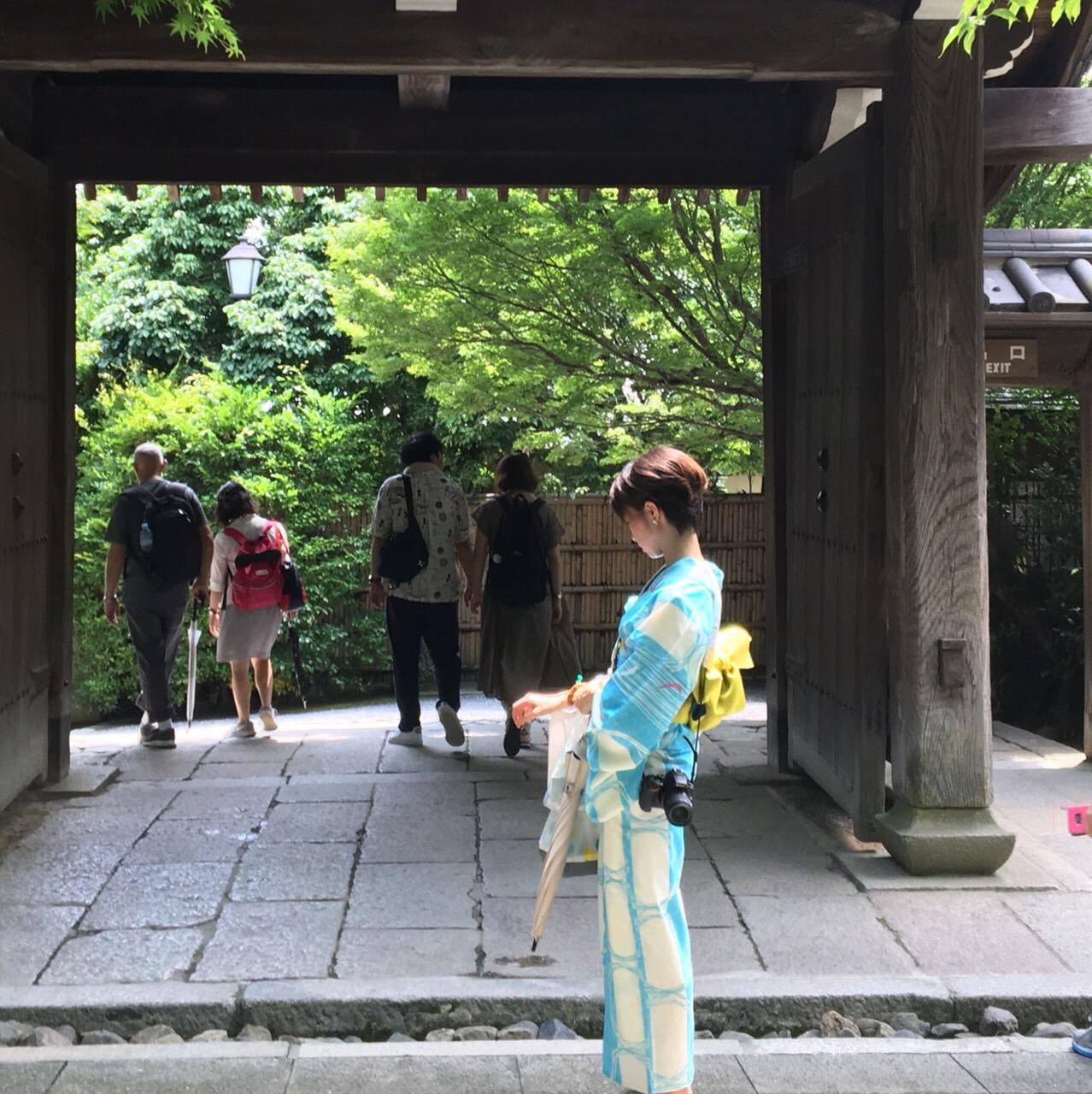 平安神宮 京アフタヌーンティーセット2019年7月25日4