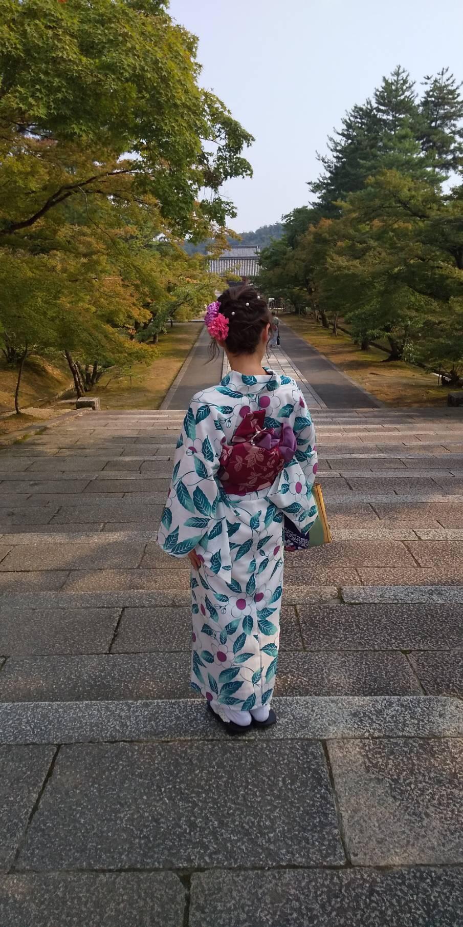 暑さに負けずに浴衣で京都観光♪2019年7月28日4