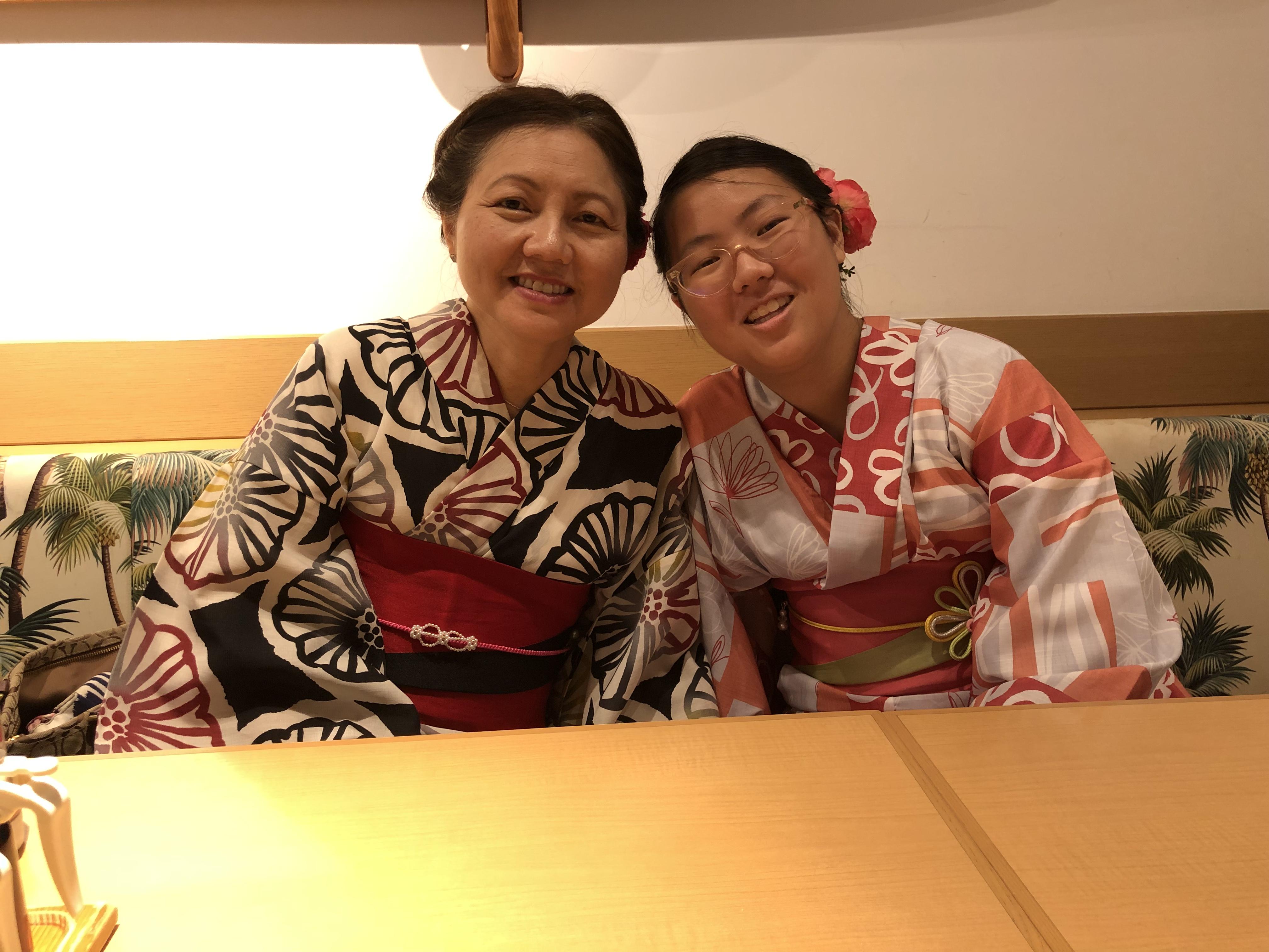 浴衣で京都の街中を散策♪2019年7月11日2