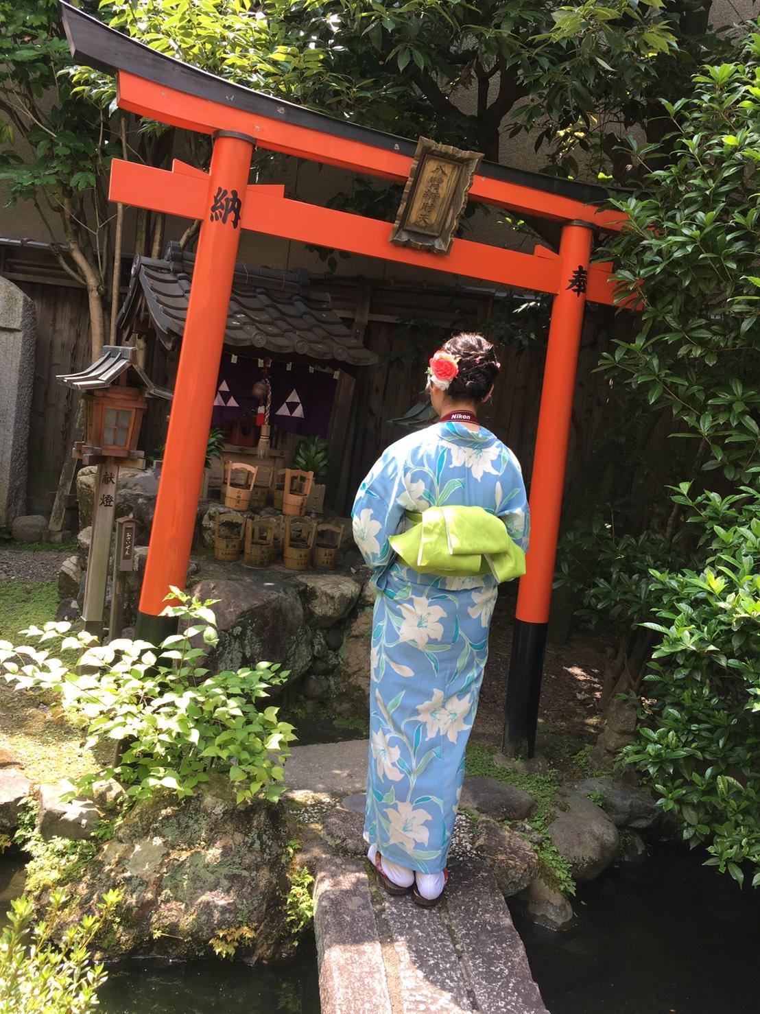 夏休みの思い出に京都旅行♪2019年7月31日11