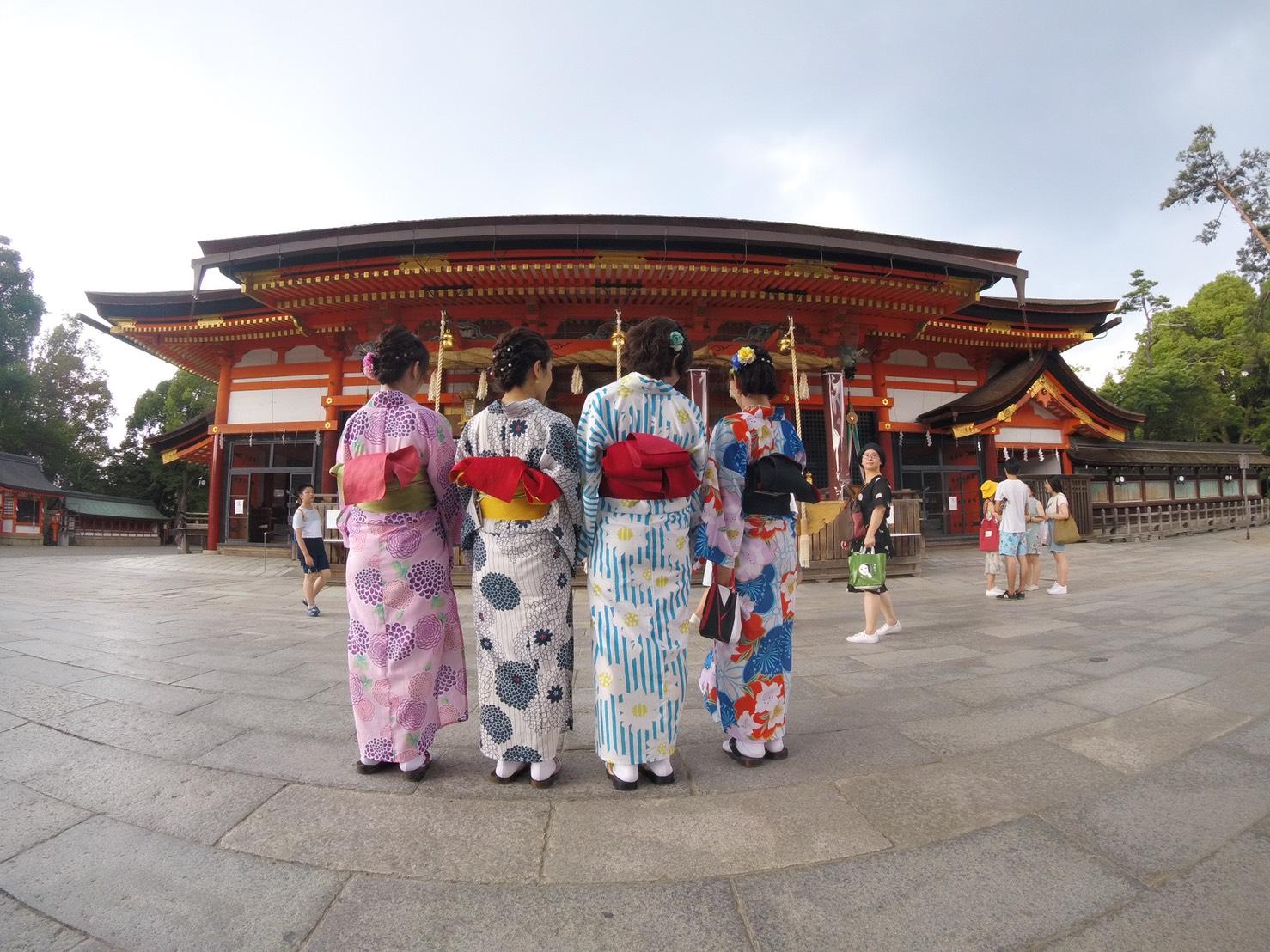 夏休みの思い出に京都旅行♪2019年7月31日5