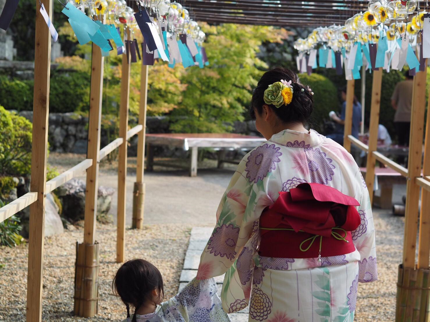 暑さに負けずに浴衣で京都観光♪2019年7月28日6