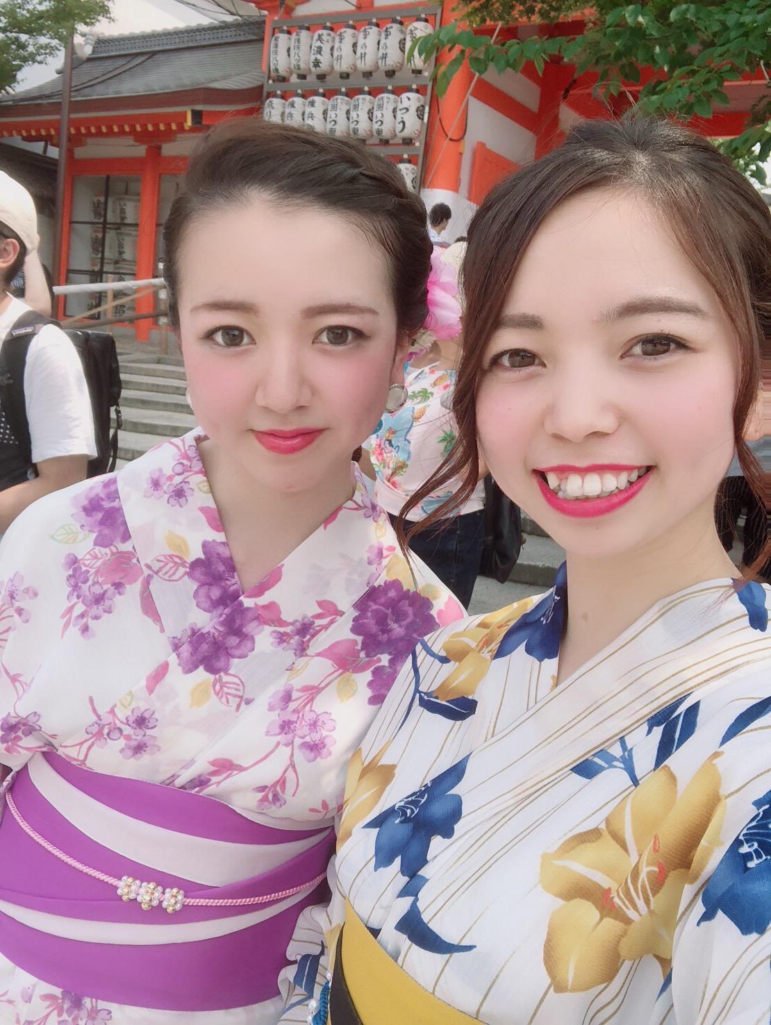暑さに負けずに浴衣で京都観光♪2019年7月28日1