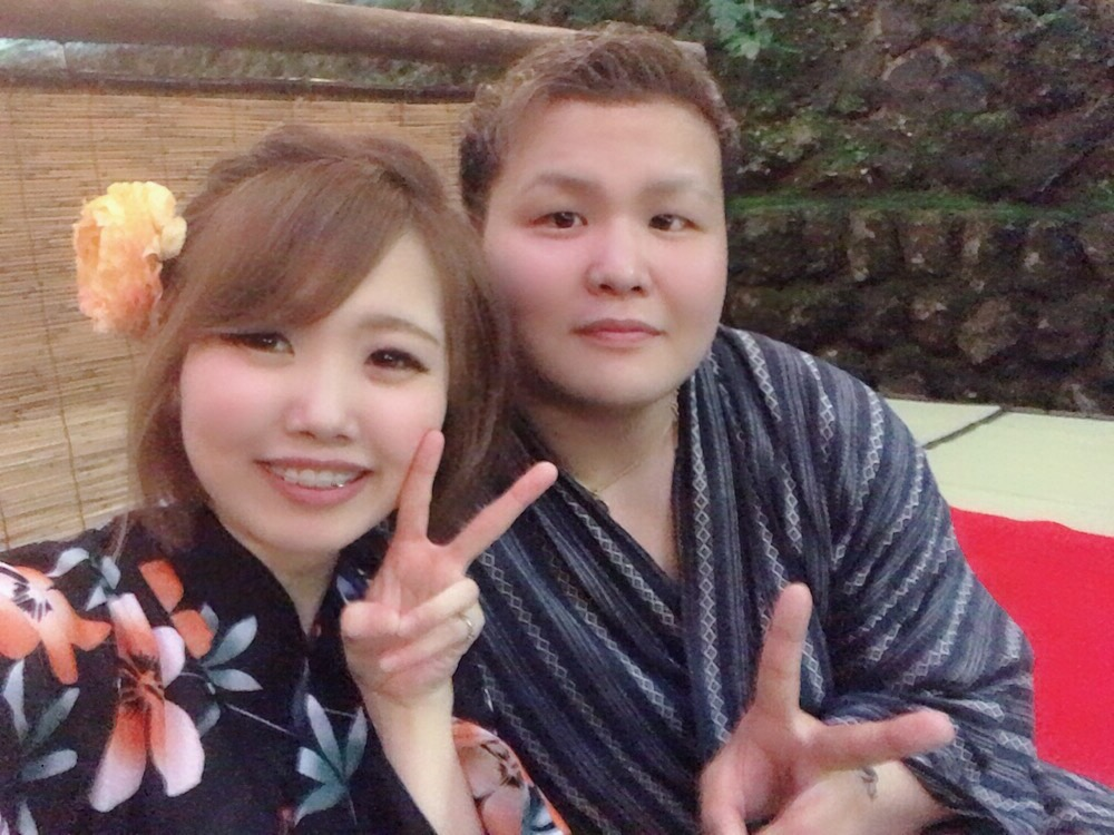 七夕はカップルで浴衣レンタル♡2019年7月7日14