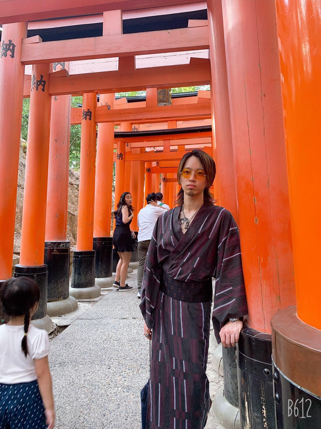 夏休みに京都で浴衣レンタル♪2019年8月12日17