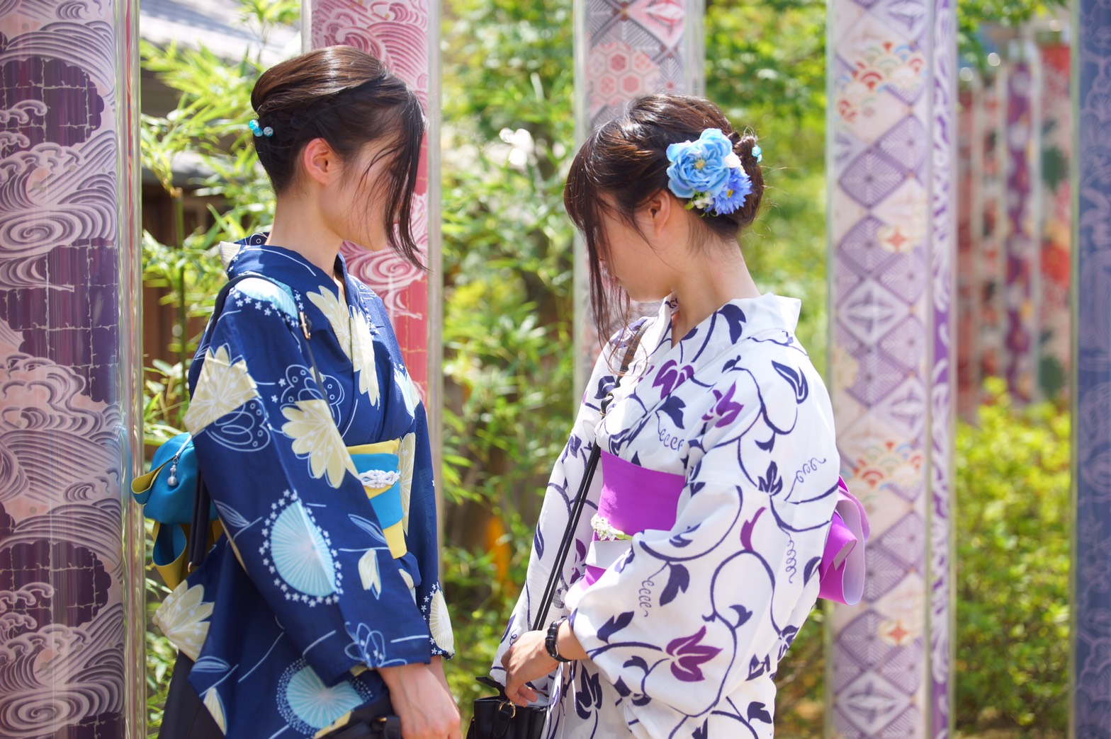 下鴨神社 糺ノ森でゆったりと♡2019年8月9日5