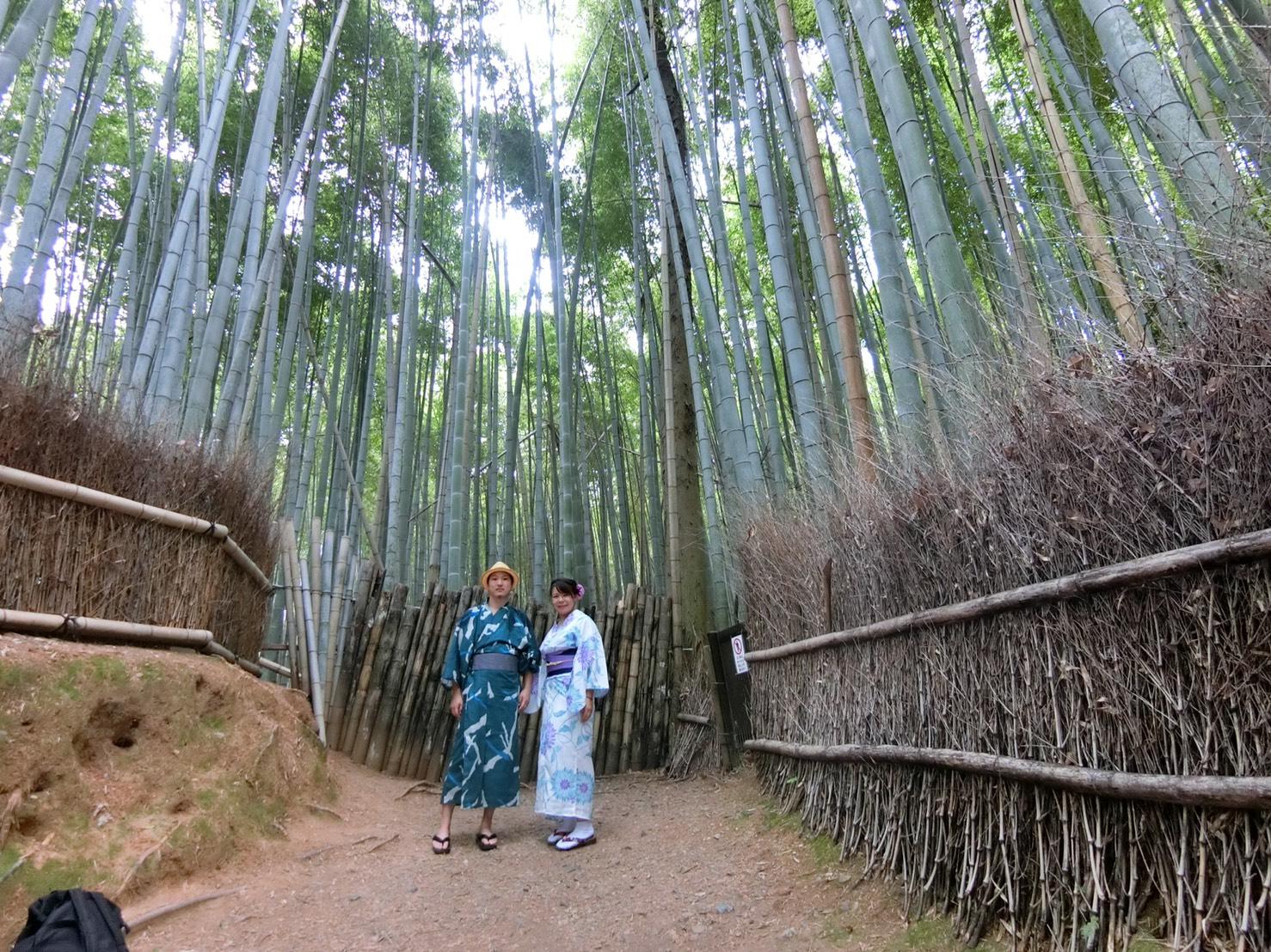 夏休みに京都で浴衣レンタル♪2019年8月12日12