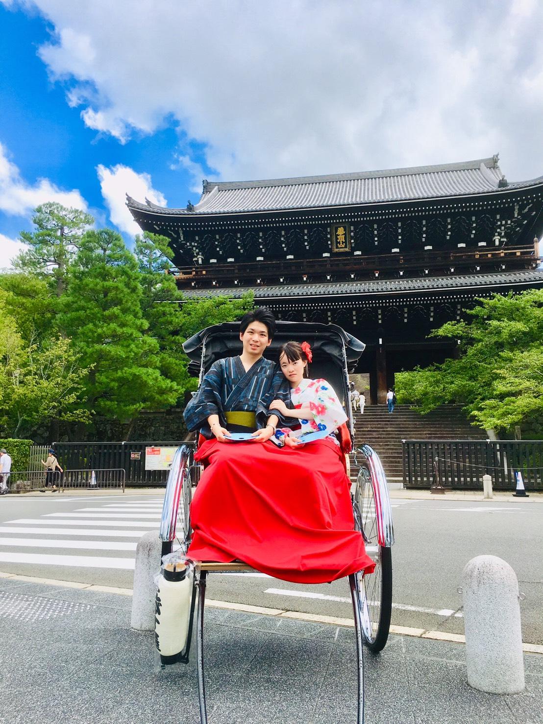 お盆休みに京都で浴衣レンタル2019年8月14日1