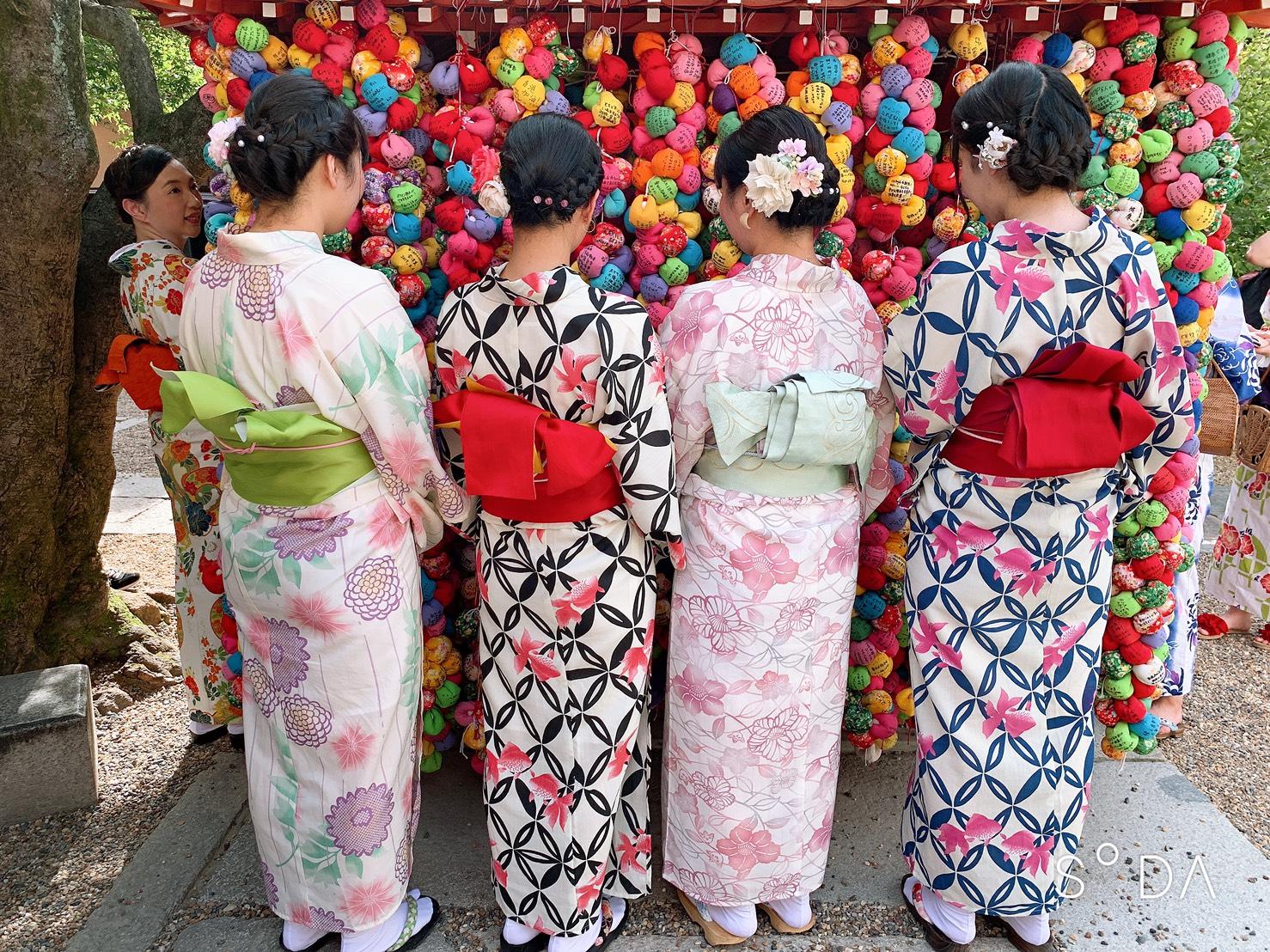 カップルで二条城「京の七夕」2019年8月6日5